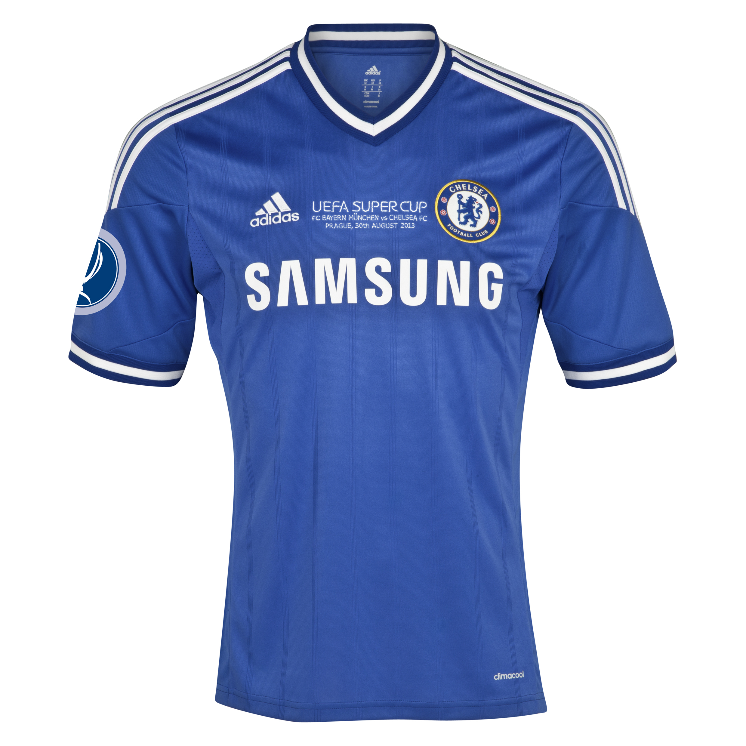 Chelsea Home Shirt 2013/14 - With Super Cup Embroidery