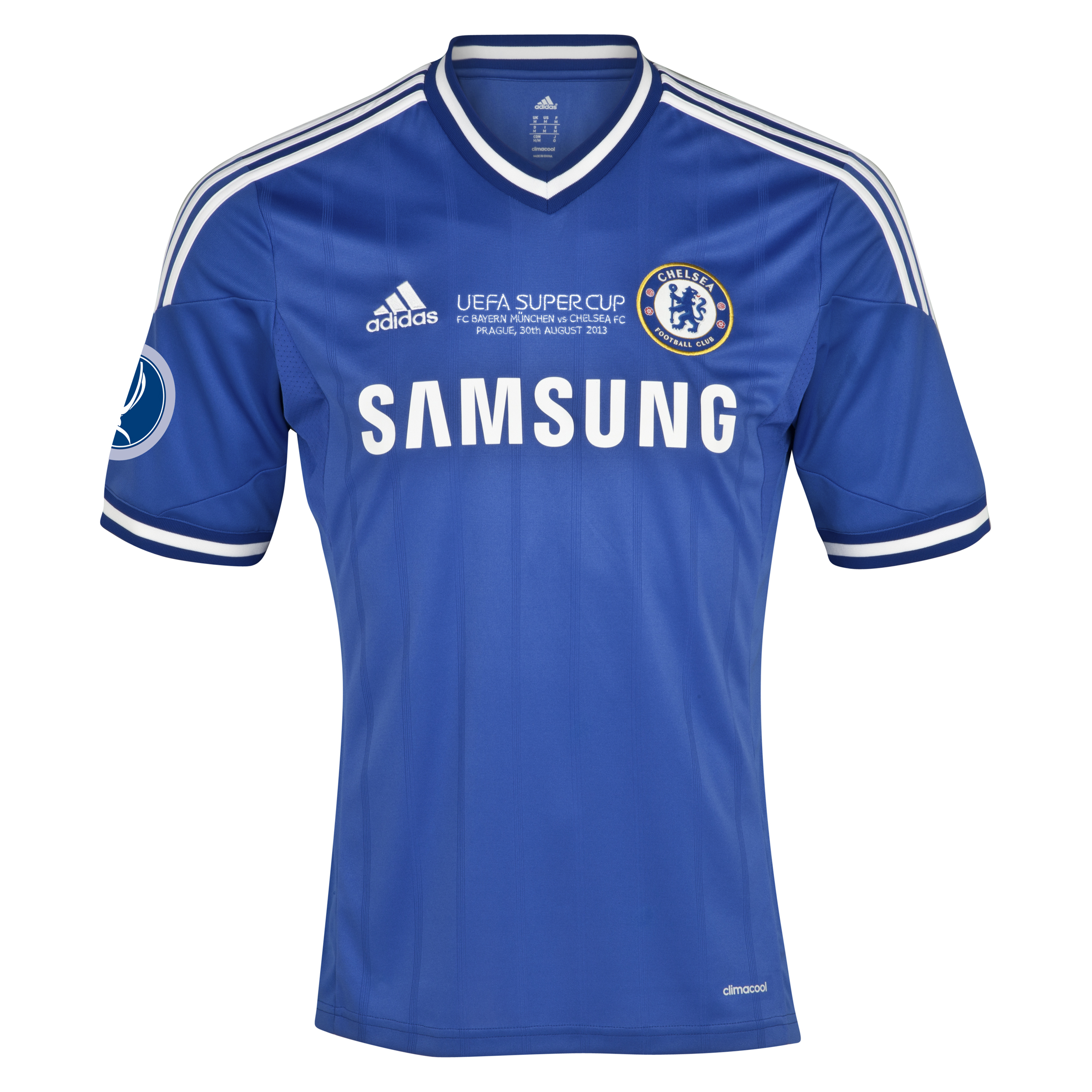 Chelsea Home Shirt 2013/14 - Kids - With Super Cup Embroidery