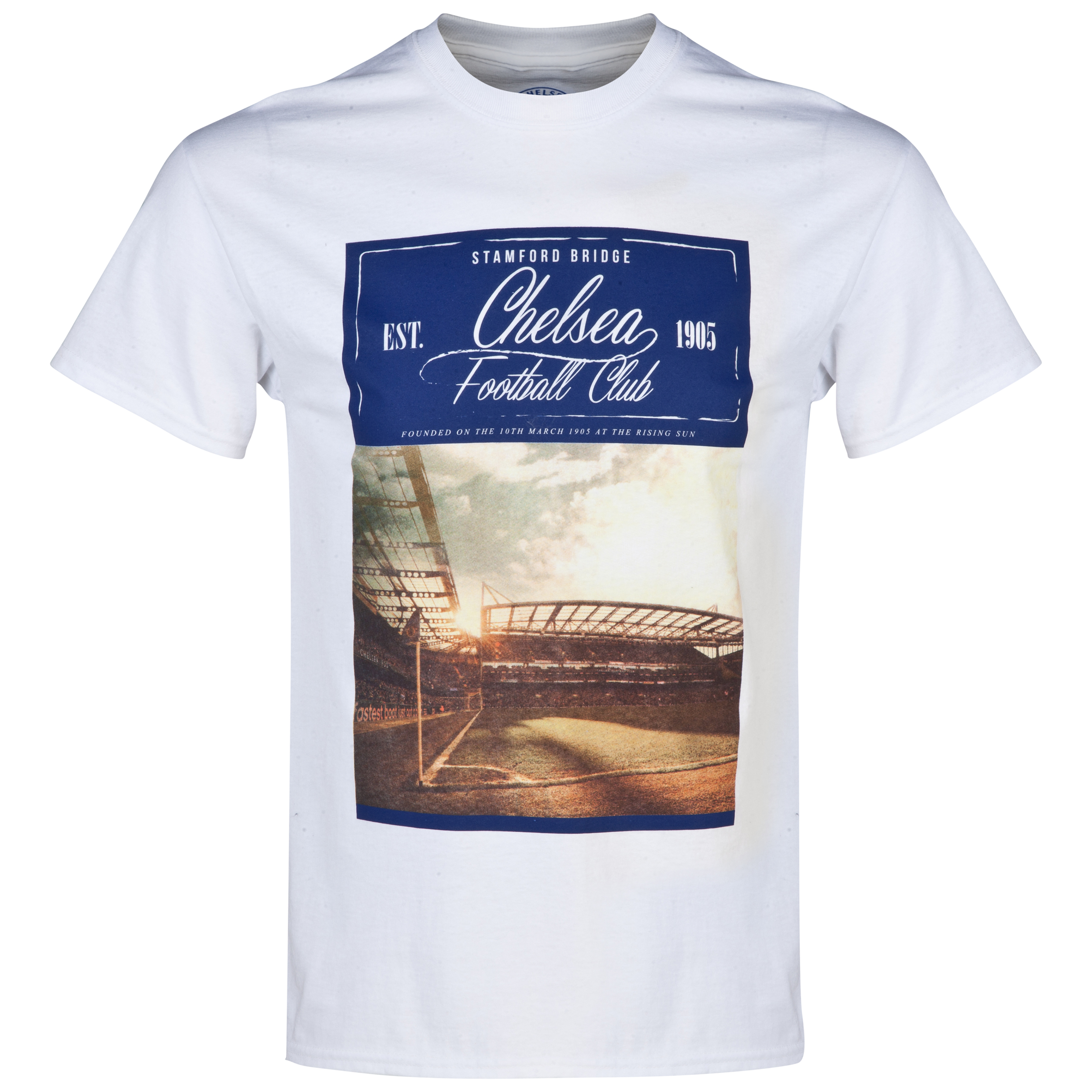 Chelsea Pitch T-Shirt - Mens White
