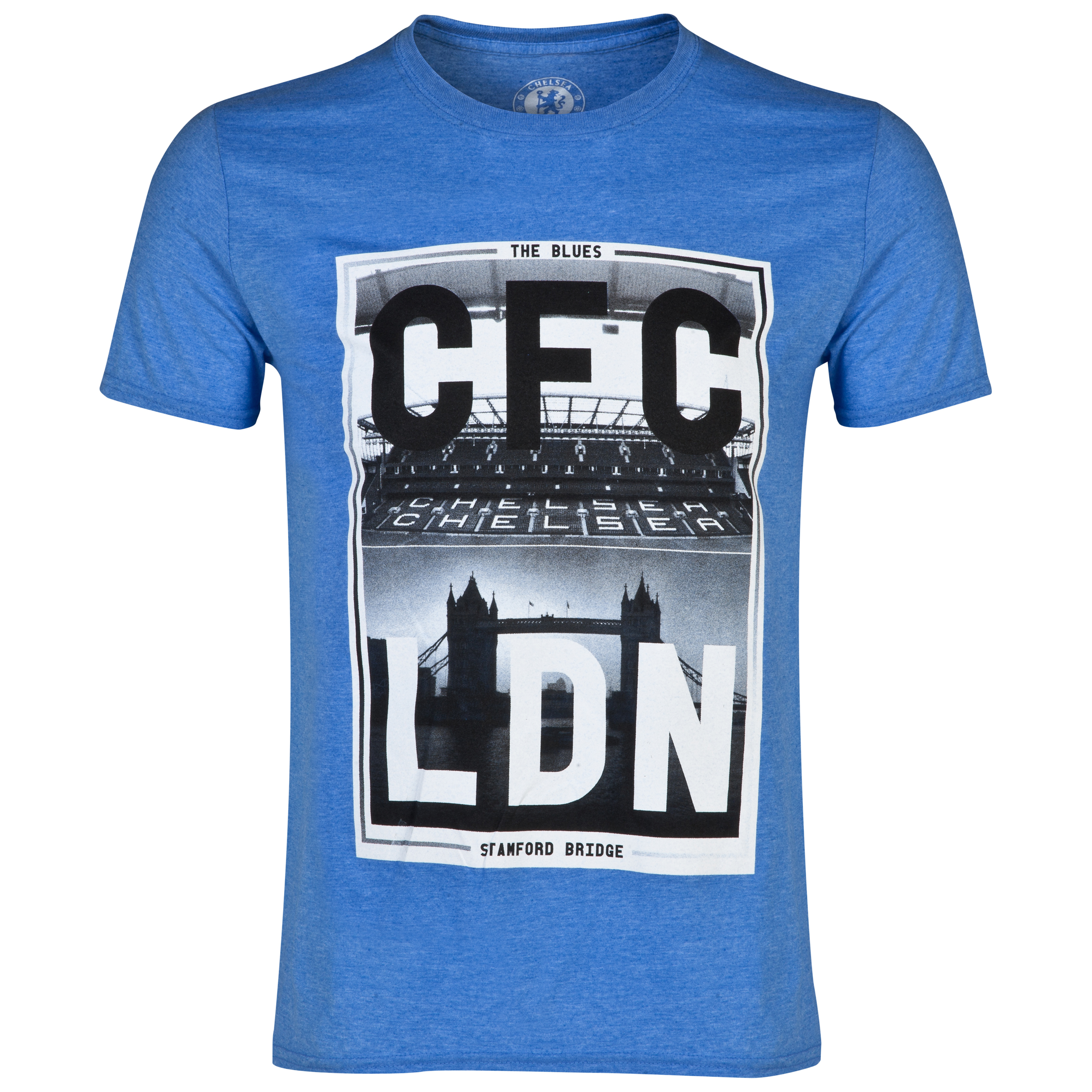 Chelsea Photo T-Shirt - Mens Blue