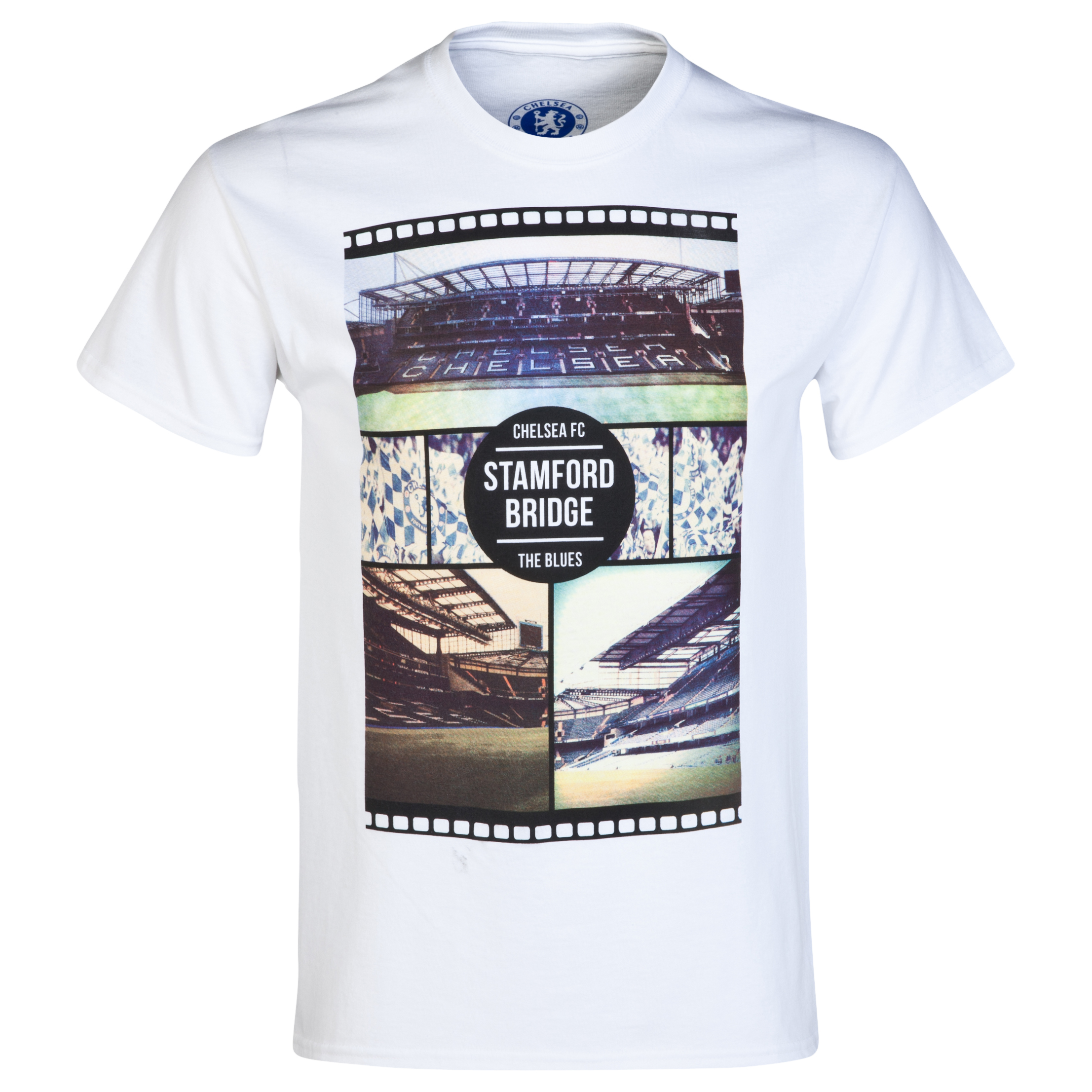Chelsea Collage T-Shirt - Mens White