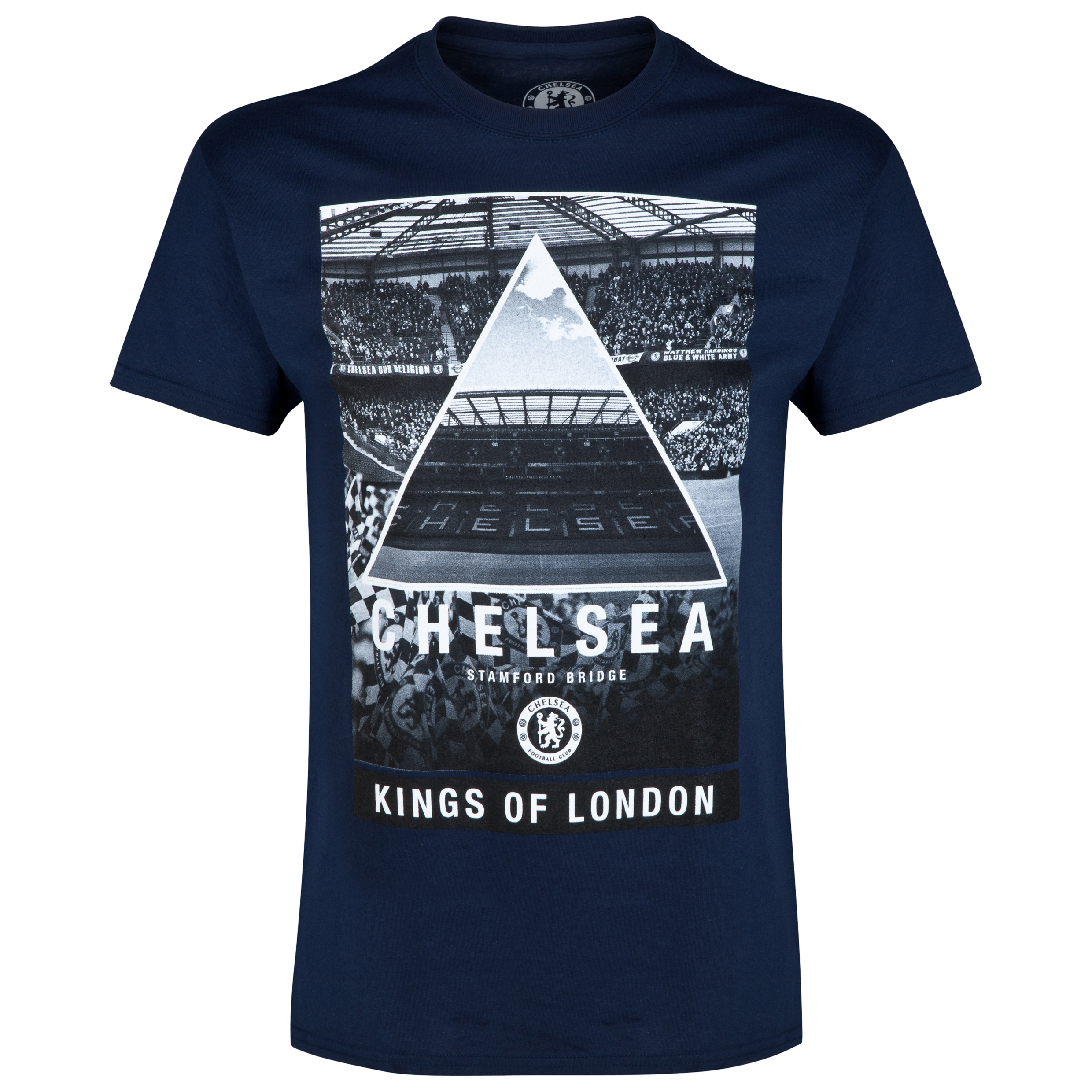 Chelsea Stadium T-Shirt - Mens Navy
