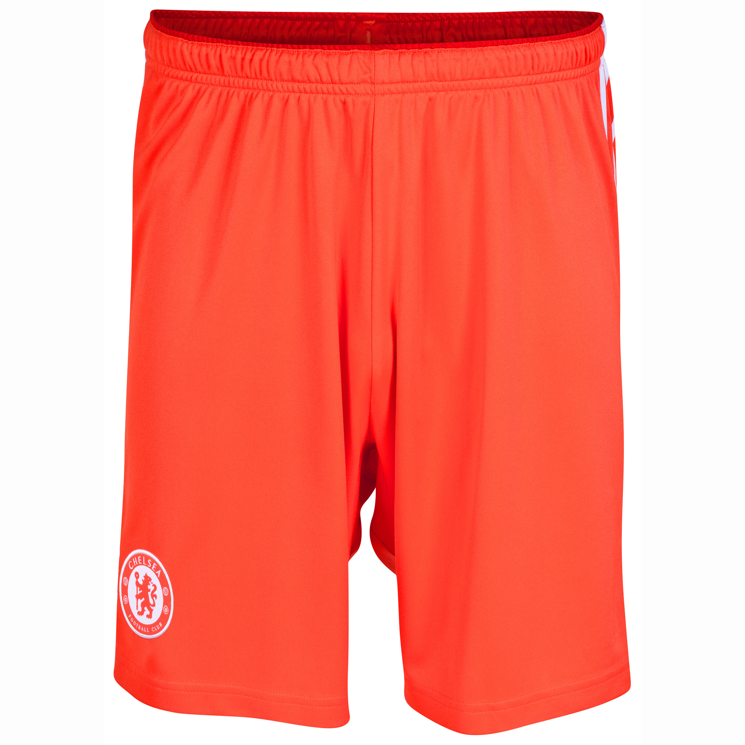 Chelsea Goalkeeper Shorts 2014/15 - Kids - Solar Red