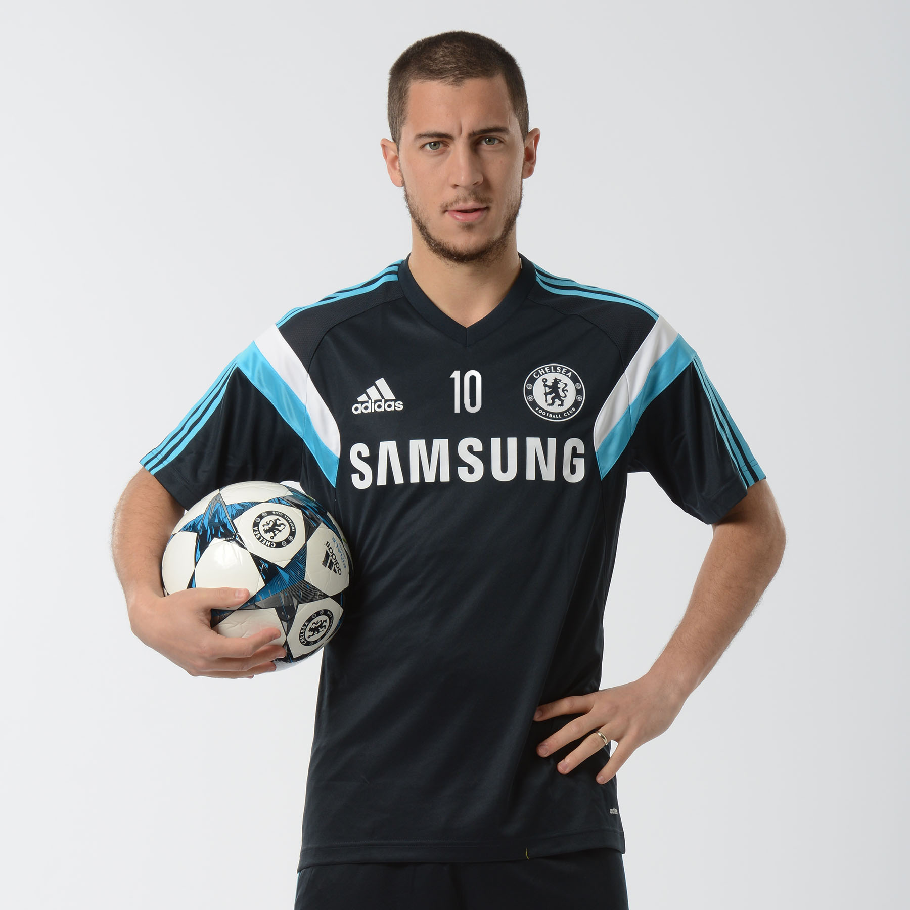 Chelsea Training Jersey Dark Blue   This adidas dark blue Chelsea Training Jersey provides ultimate performance and comfort while in motion so you can perform at your best game after game.   Styled with an adidas performance logo, adidas stripes and a Chelsea club crest lion badge, this Chelsea training jersey looks as good as it feels.   Benefits of this Chelsea training jersey •adidas performance logo and stripes •Chelsea club crest lion badge