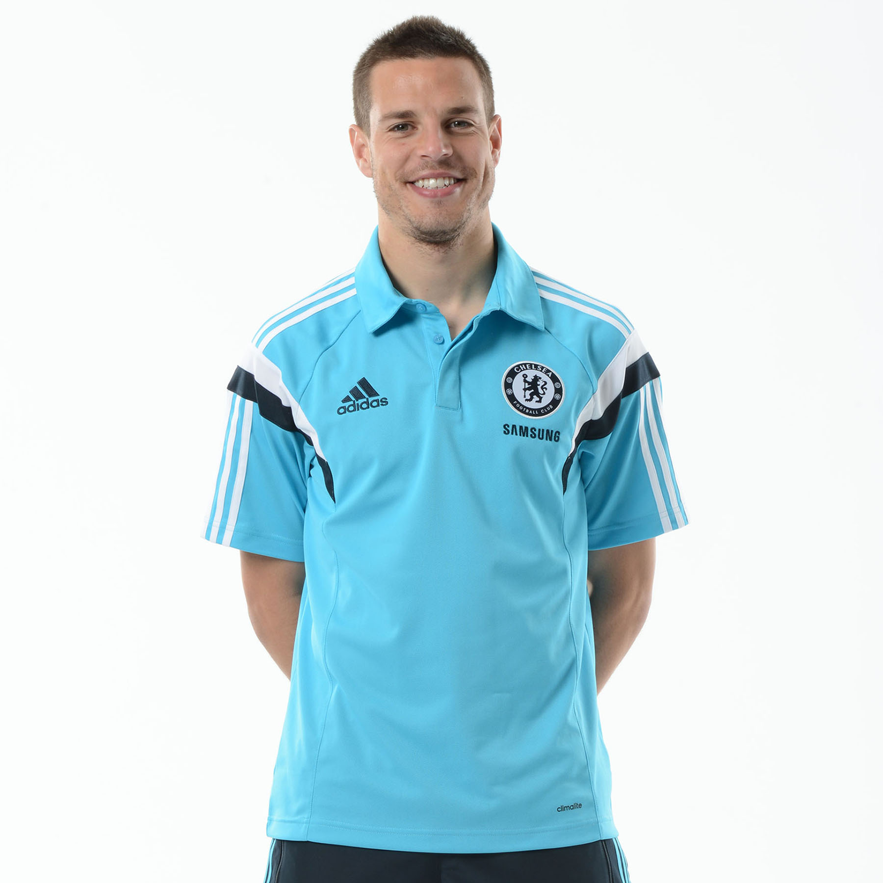 Chelsea Training Polo Blue