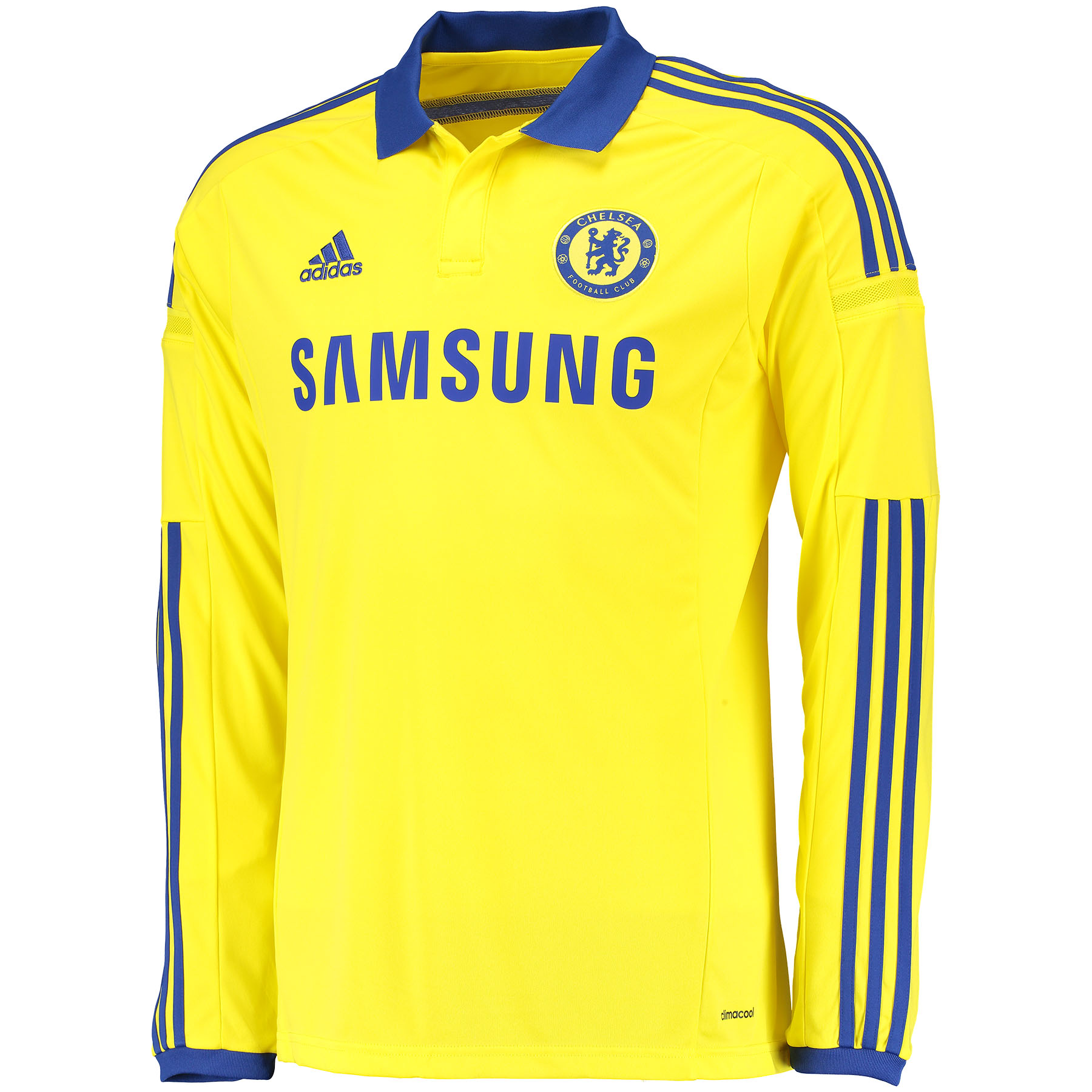 Buy Chelsea Away Kit 2014/15 Long Sleeve Yellow