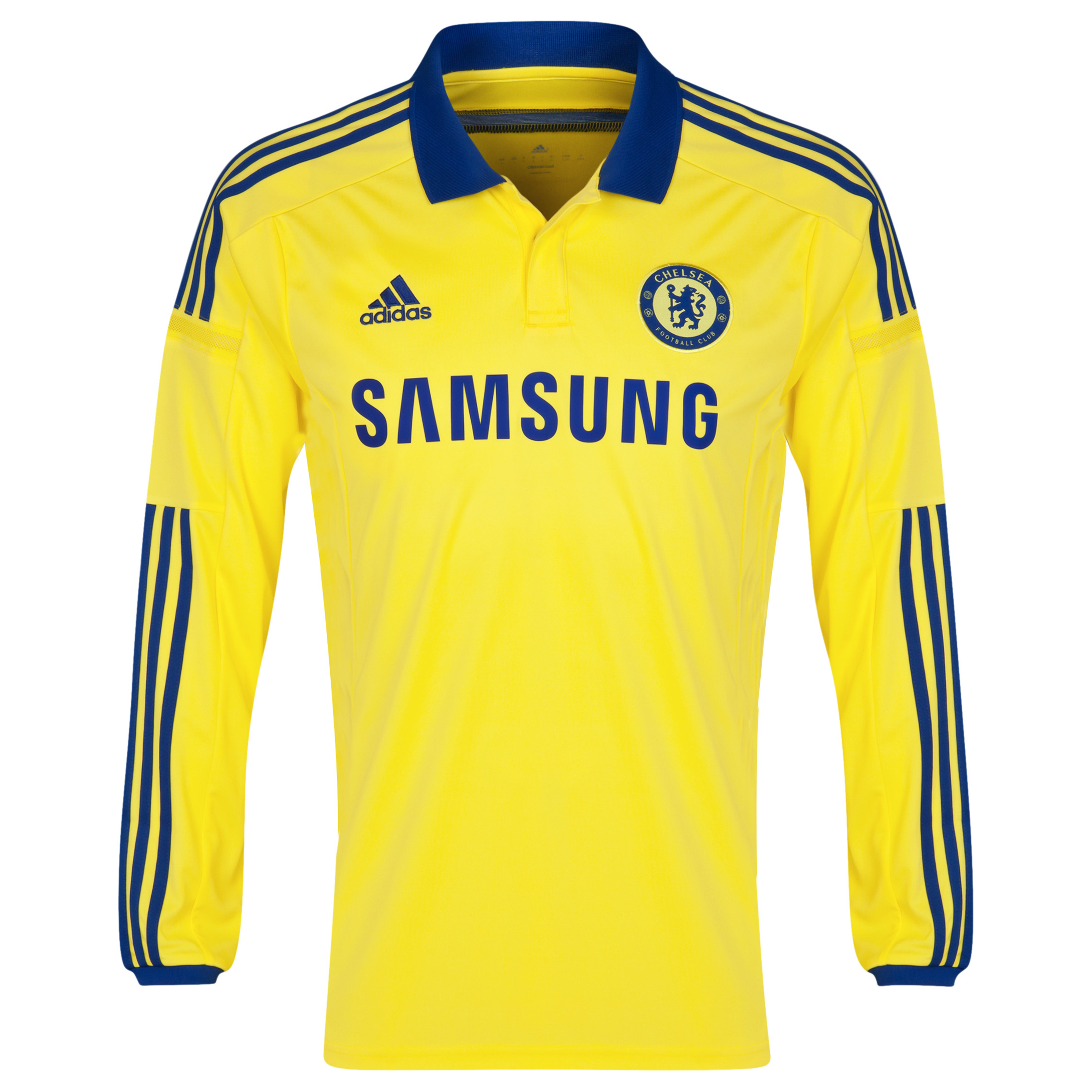 Buy Chelsea Away Kit 2014/15 Long Sleeve Kids Yellow
