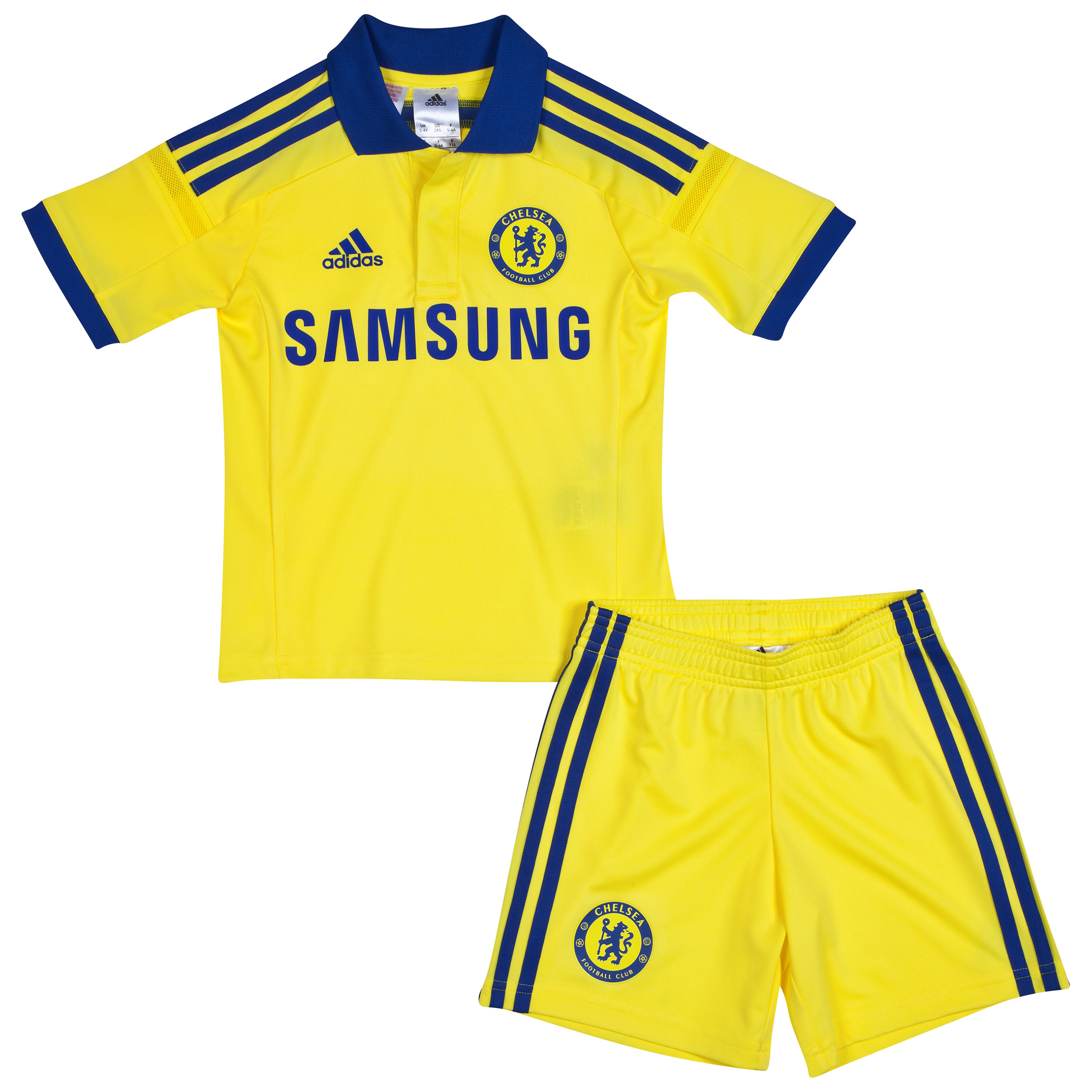 Buy Chelsea Away Mini Kit 2014/15 Yellow