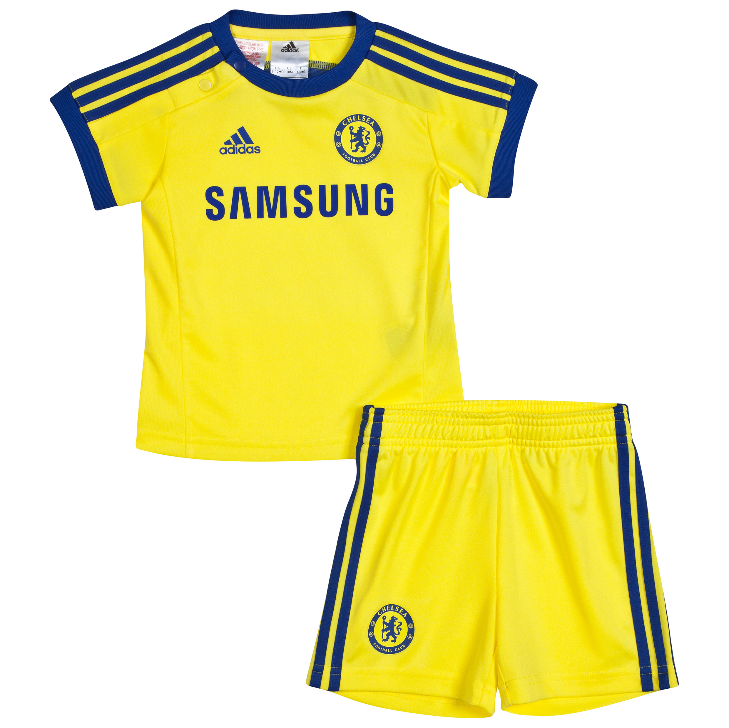 Buy Chelsea Away Baby Kit 2014/15 Yellow