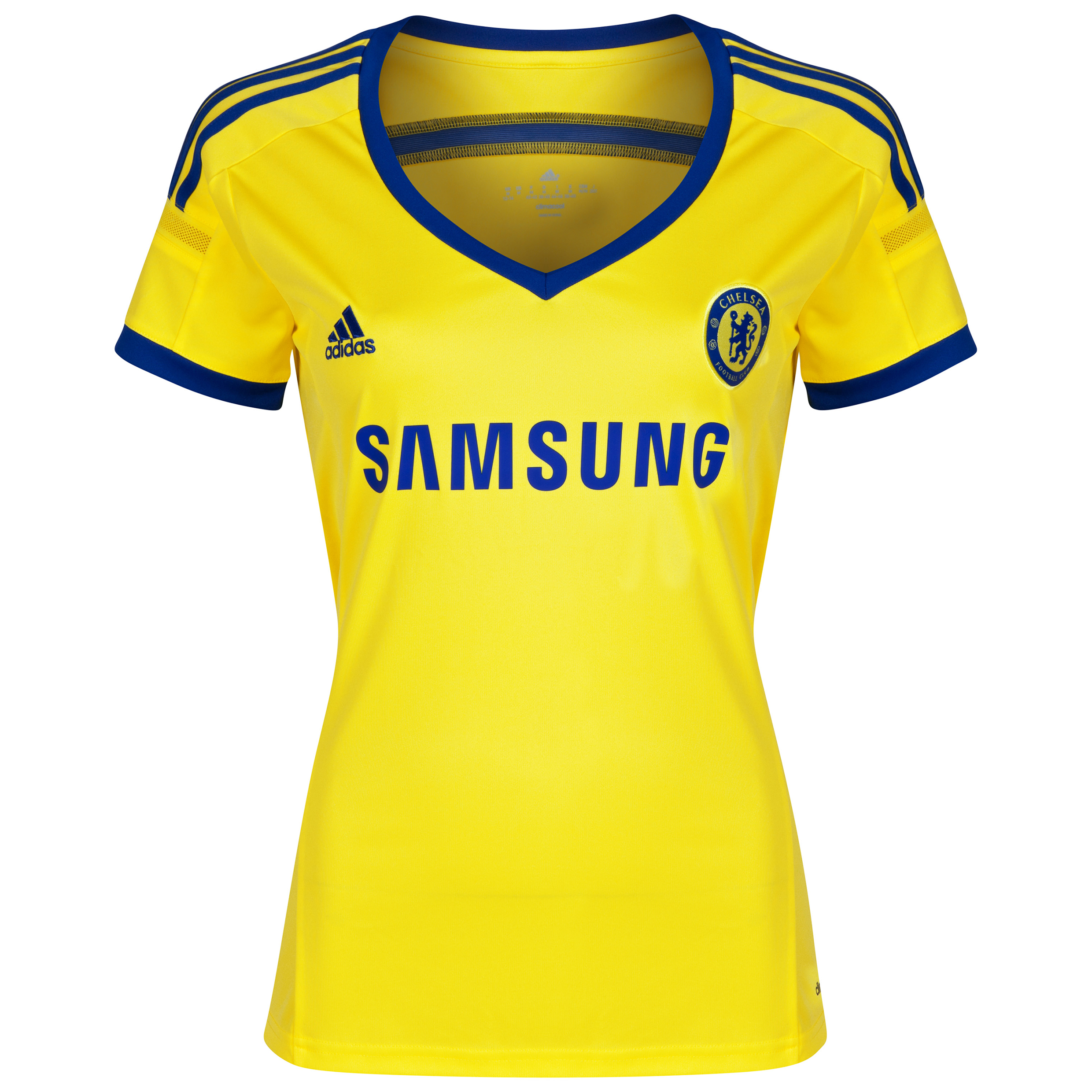 Buy Chelsea Away Kit 2014/15 Womens Yellow