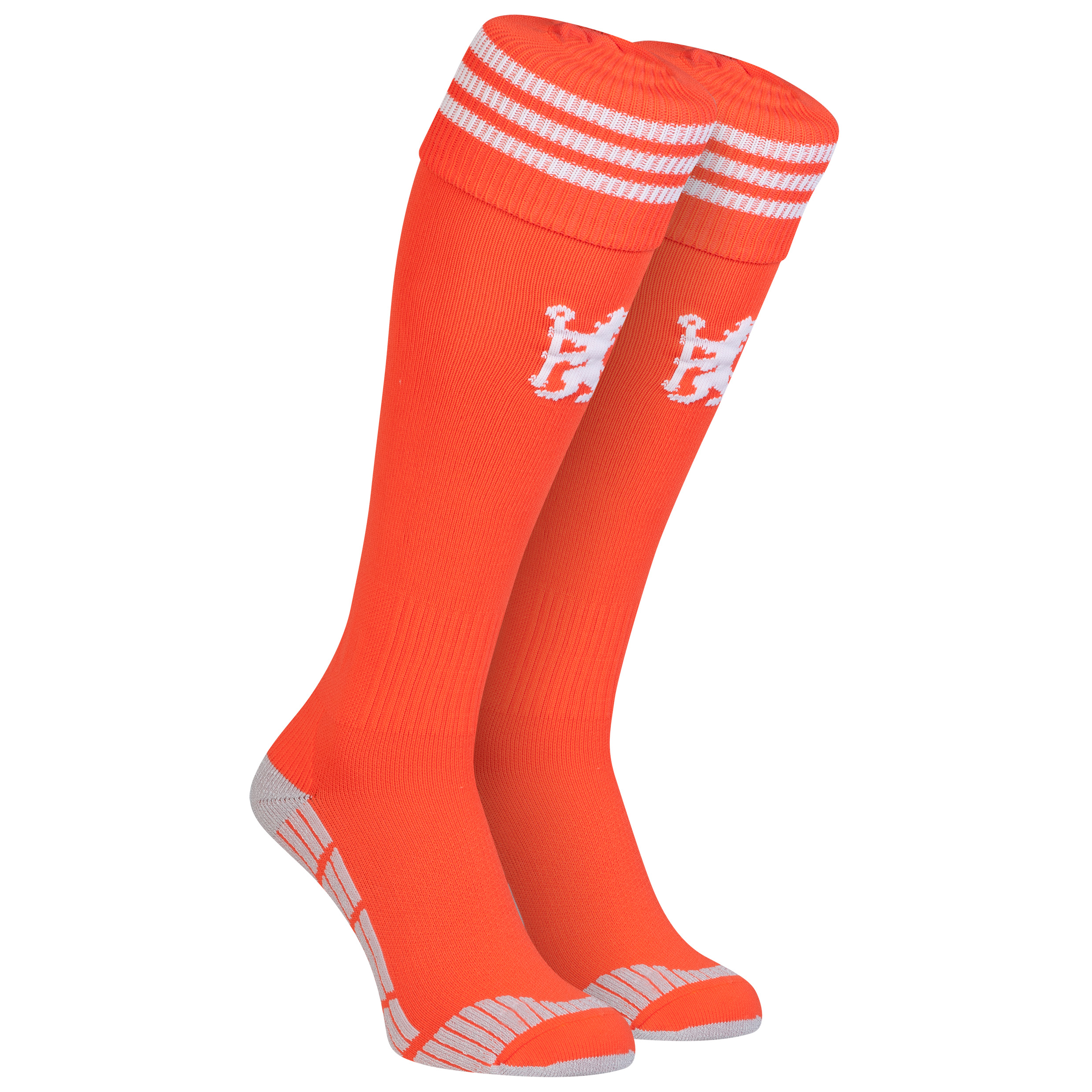 Chelsea Goalkeeper Socks 2014/15 - Solar Red