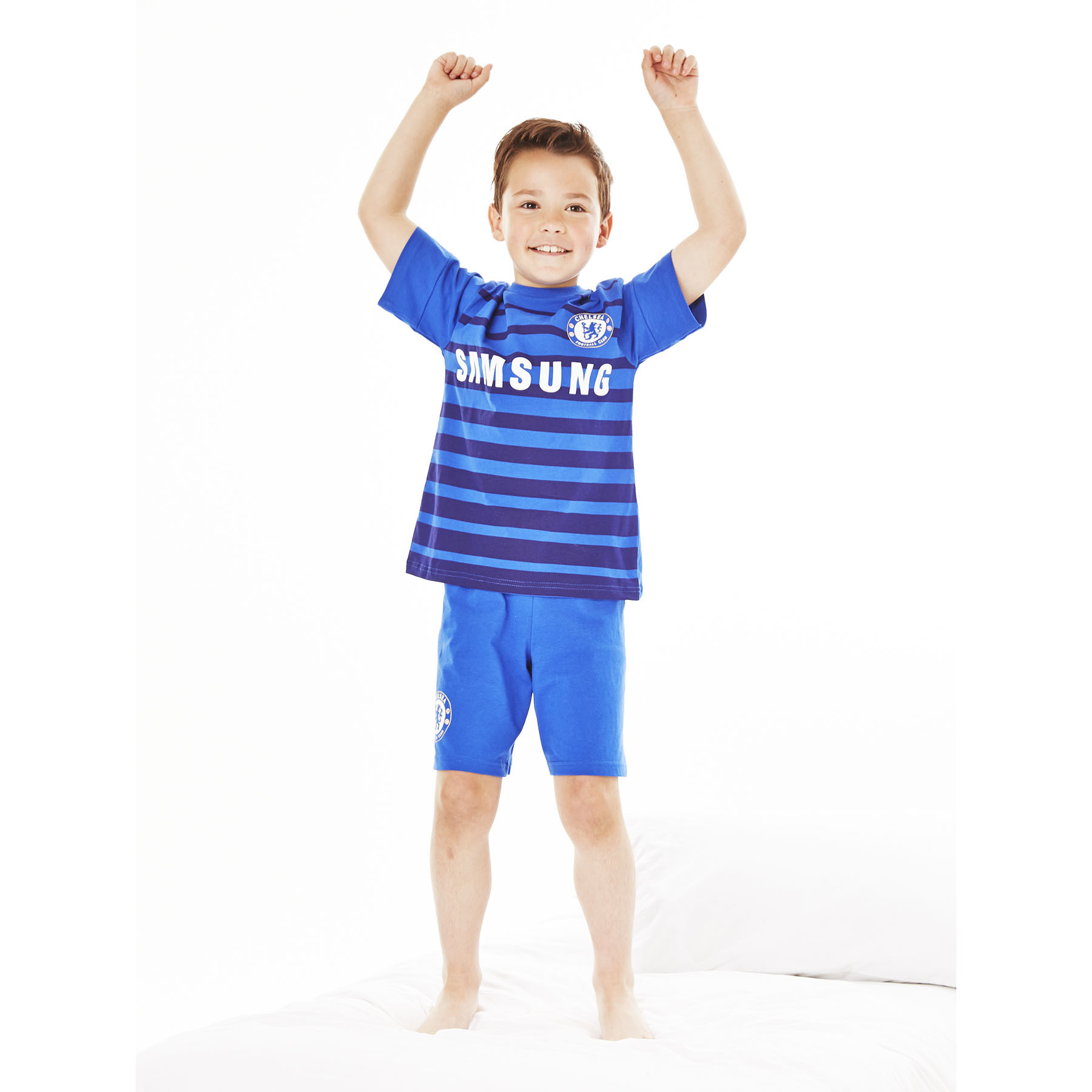 Chelsea Home Kit Pyjamas- Reflex Blue - Boys