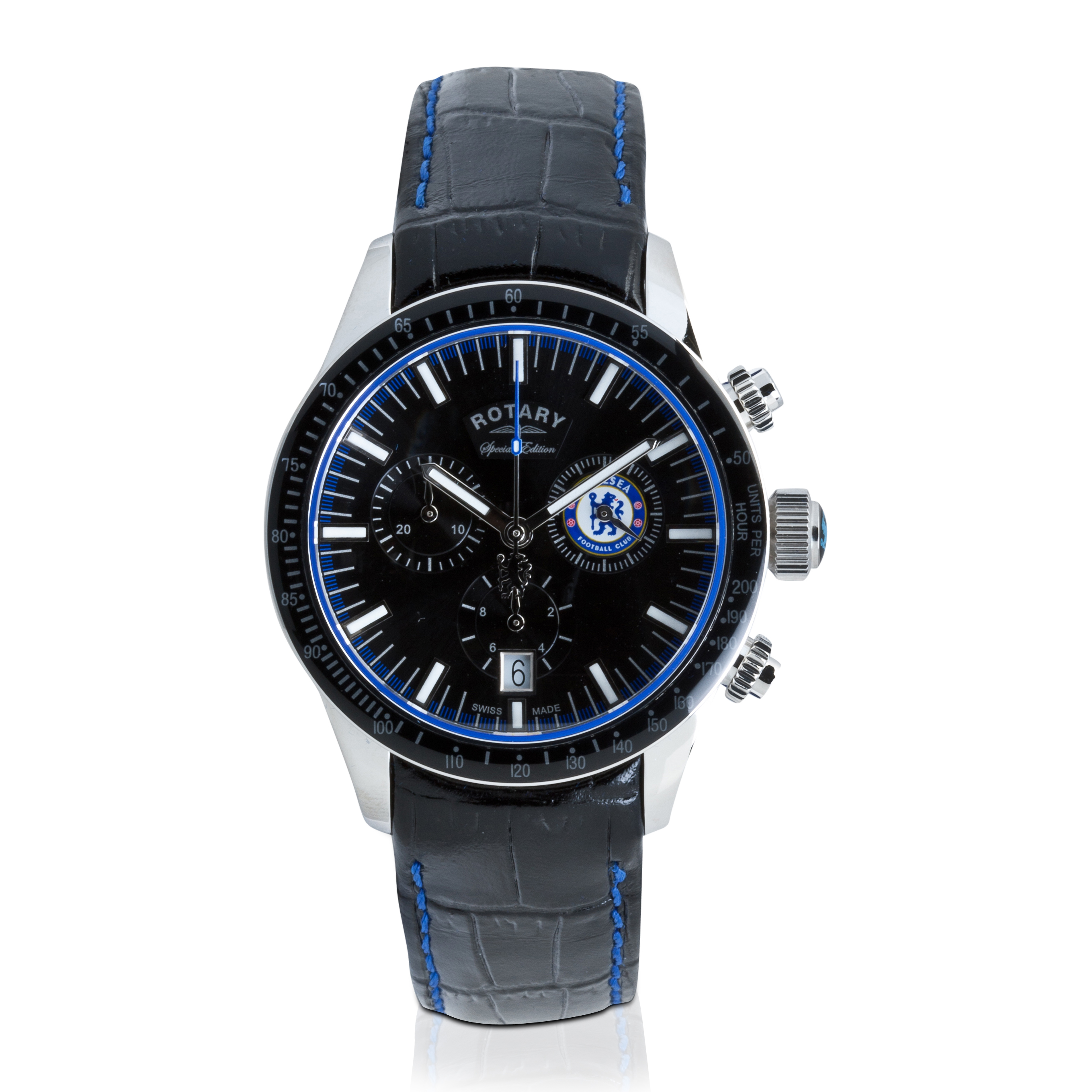 Chelsea 2013/14 Special Edition Rotary Leather Strap Watch
