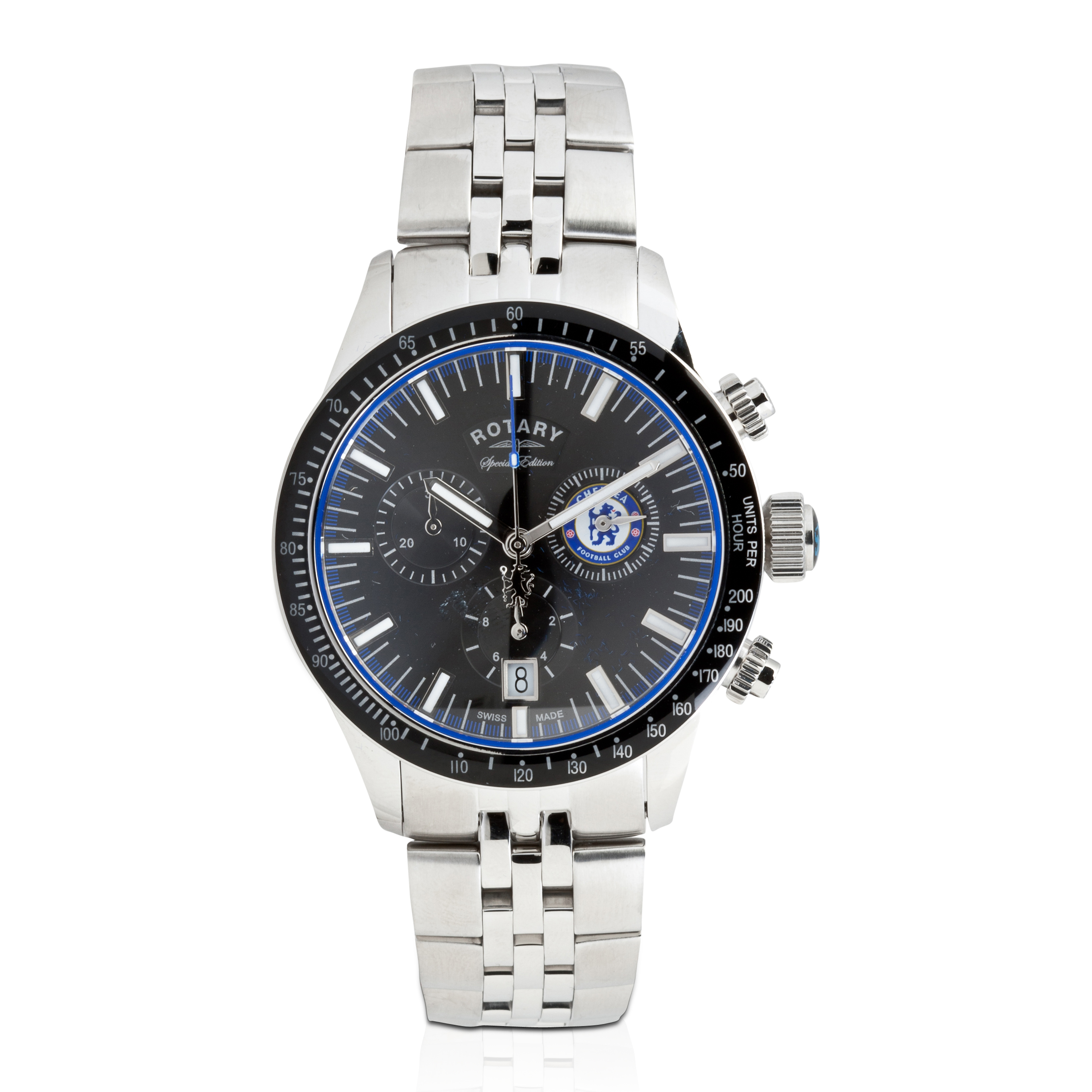 Chelsea 2013/14 Special Edition Rotary Stainless Steel Strap Watch