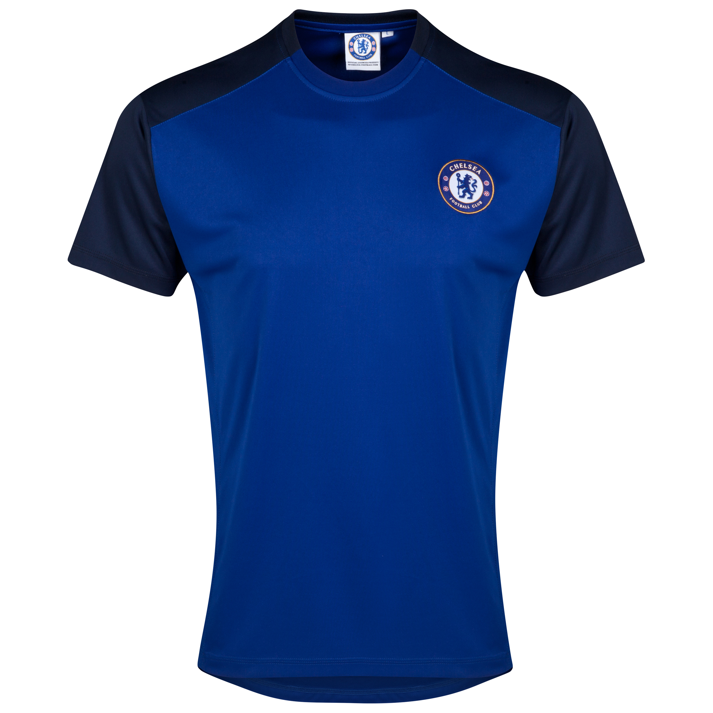 Chelsea Classic Poly Panel T-Shirt - Royal - Mens