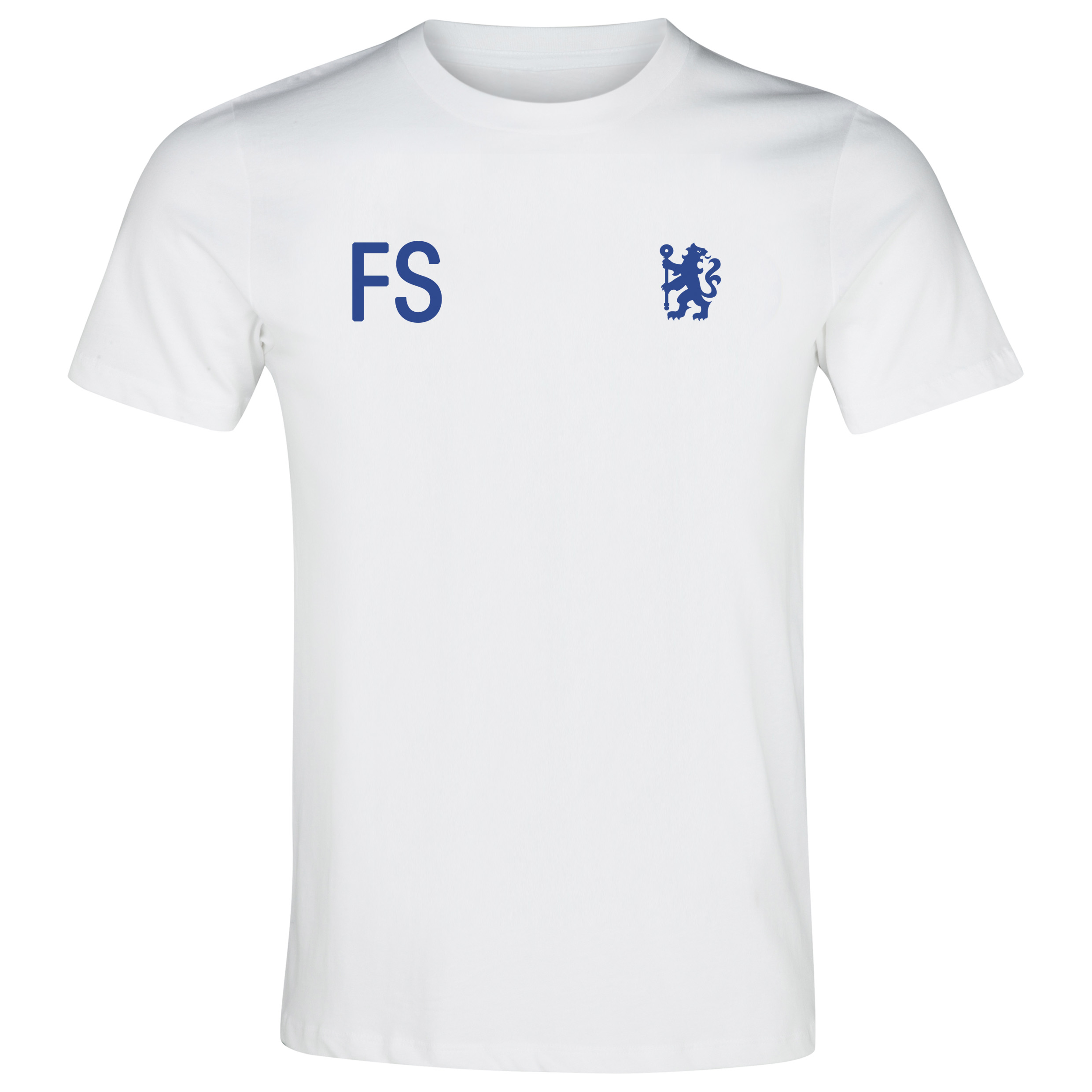 Chelsea Personalised Sports T-Shirt White