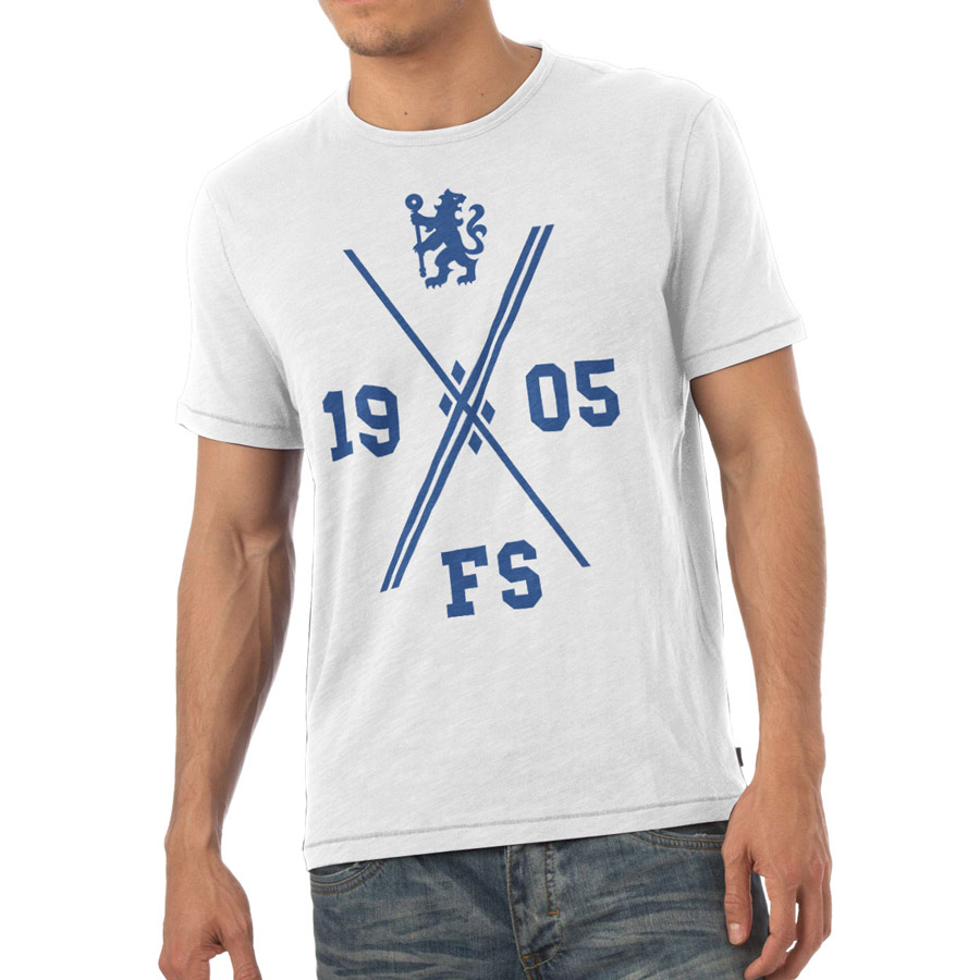Chelsea Personalised 1905 T-Shirt White