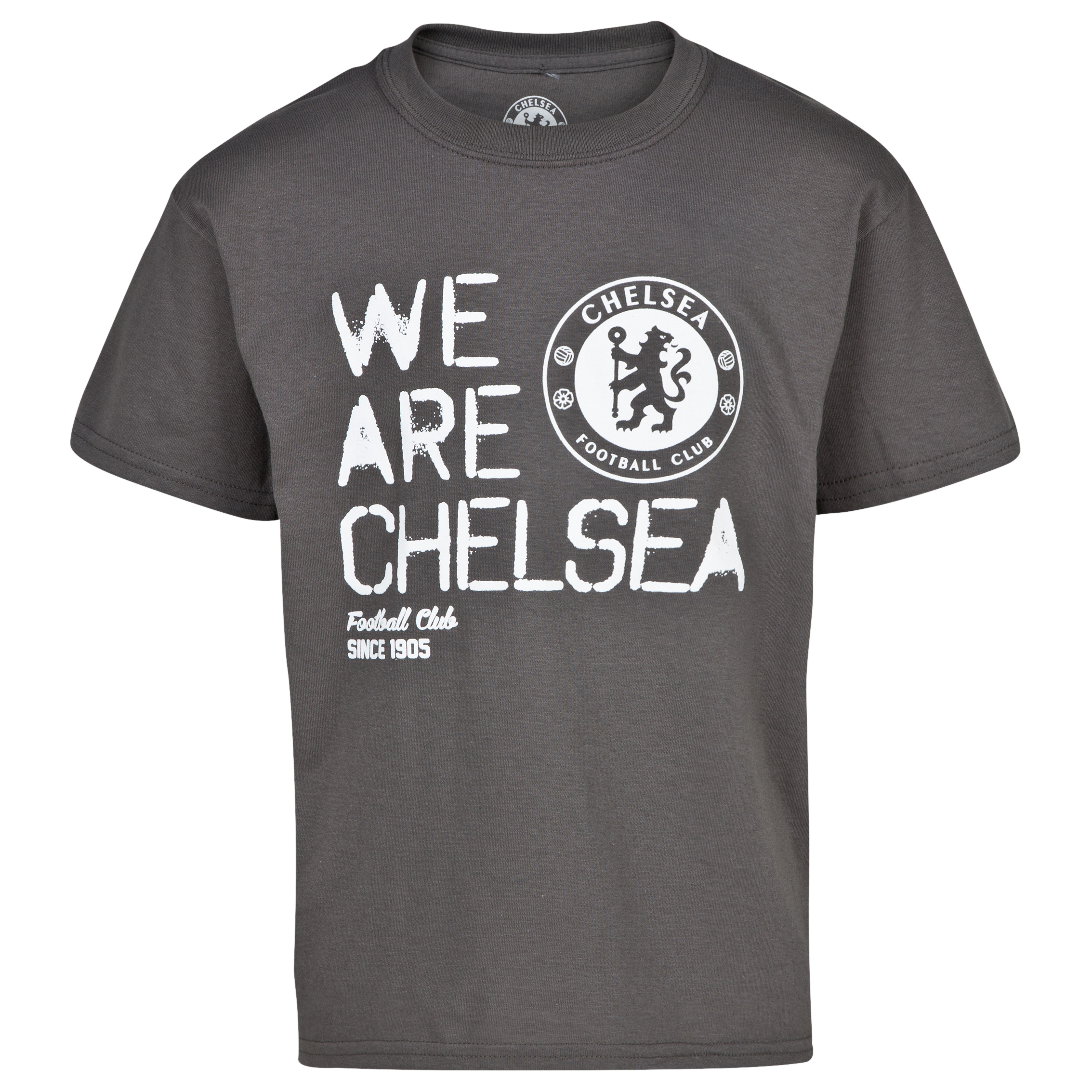 Chelsea We Are Chelsea T-Shirt - Dark Heather - Boys