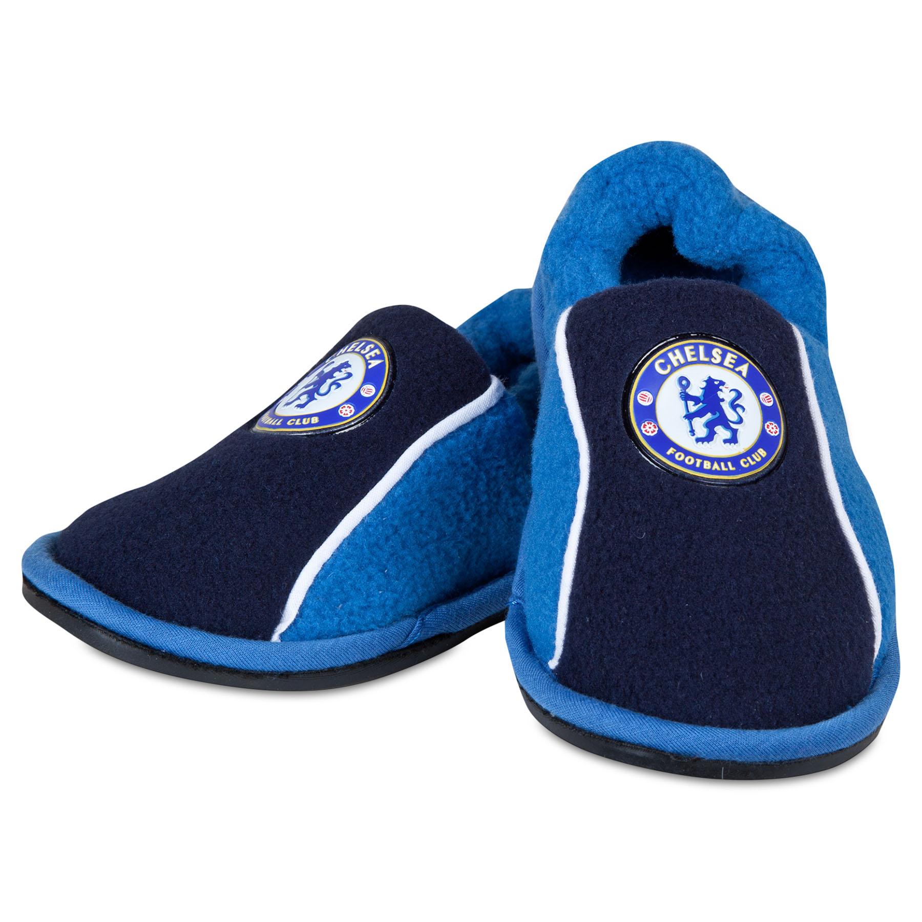 Chelsea Stretch Heel Slippers - Reflex Blue - Boys