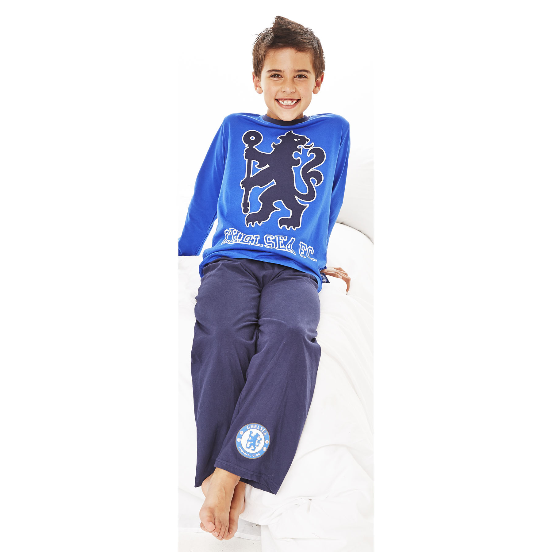 Chelsea Lion Pyjamas - Royal/Navy - Older Boys