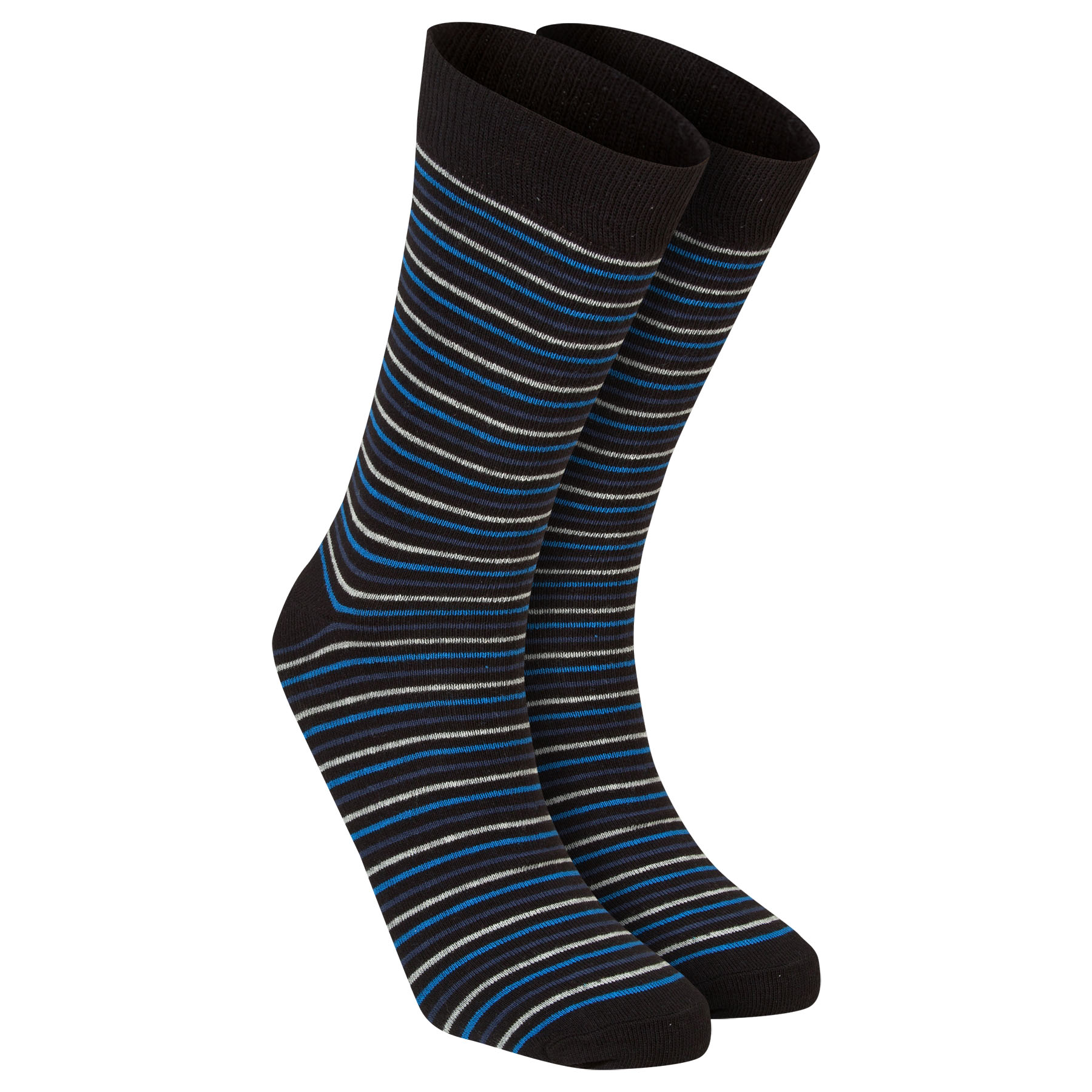 Chelsea Pin Stripe Socks - Multi - Mens