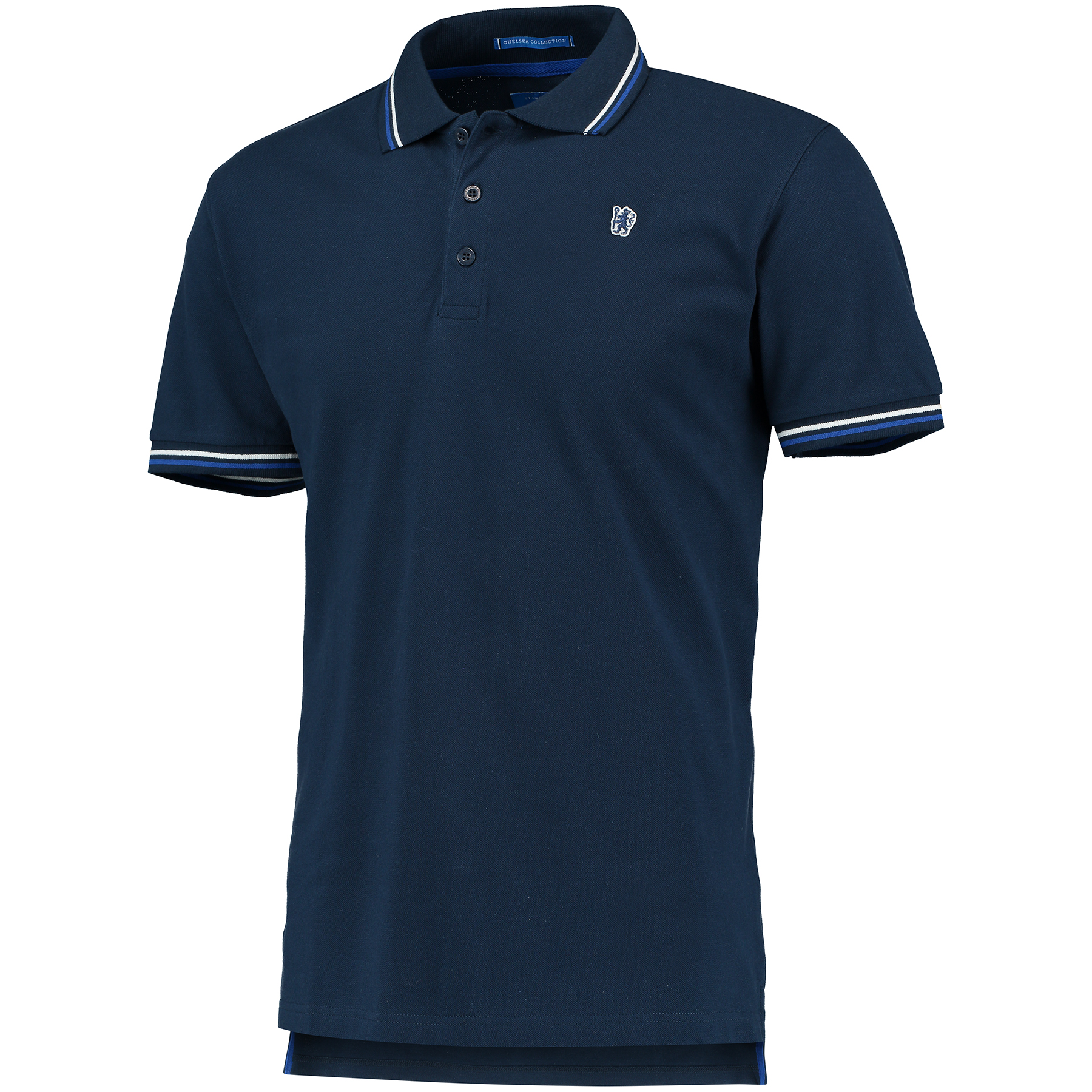 Chelsea Tipped Lion Polo Shirt - Navy - Mens