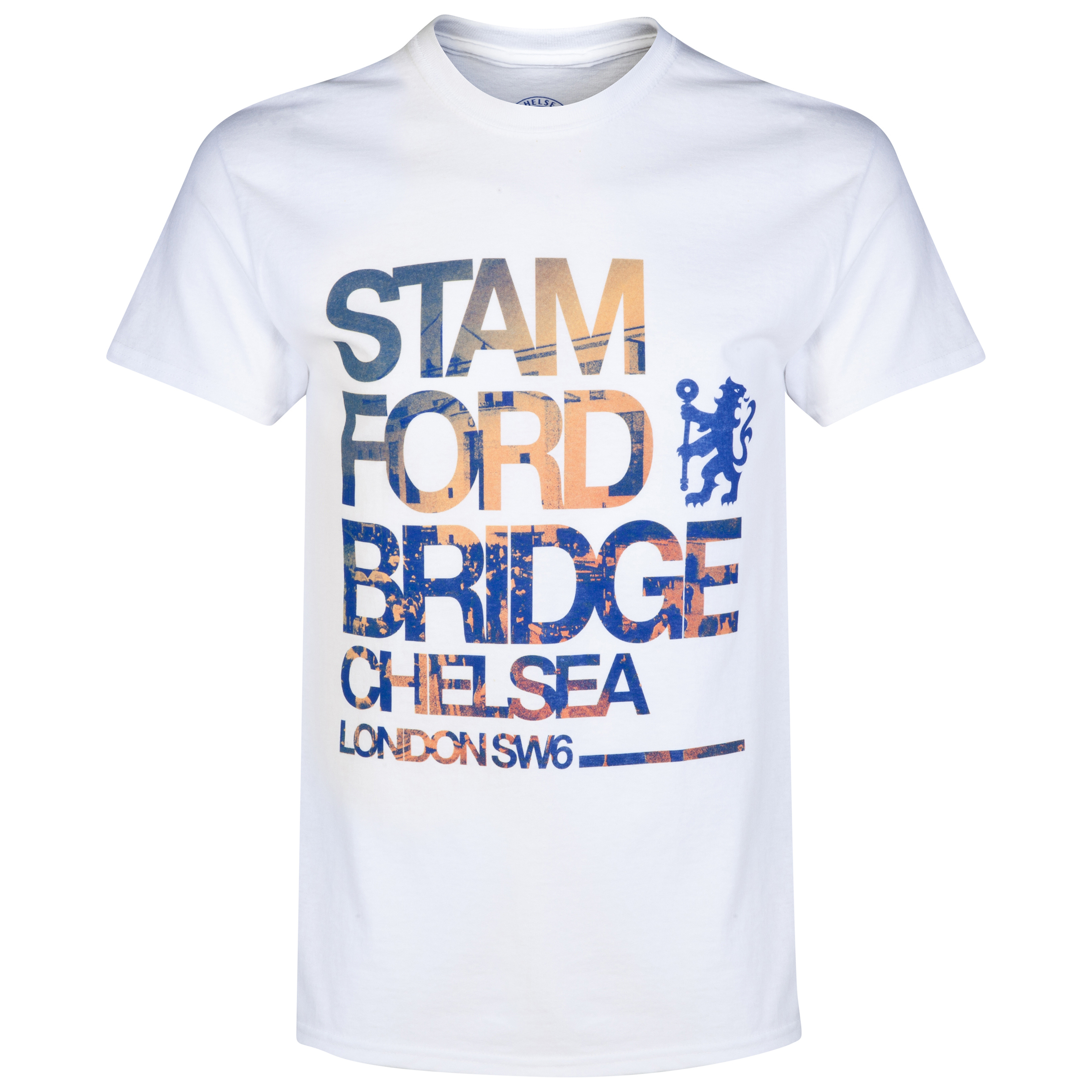 Chelsea Stamford Bridge T-Shirt - White - Mens
