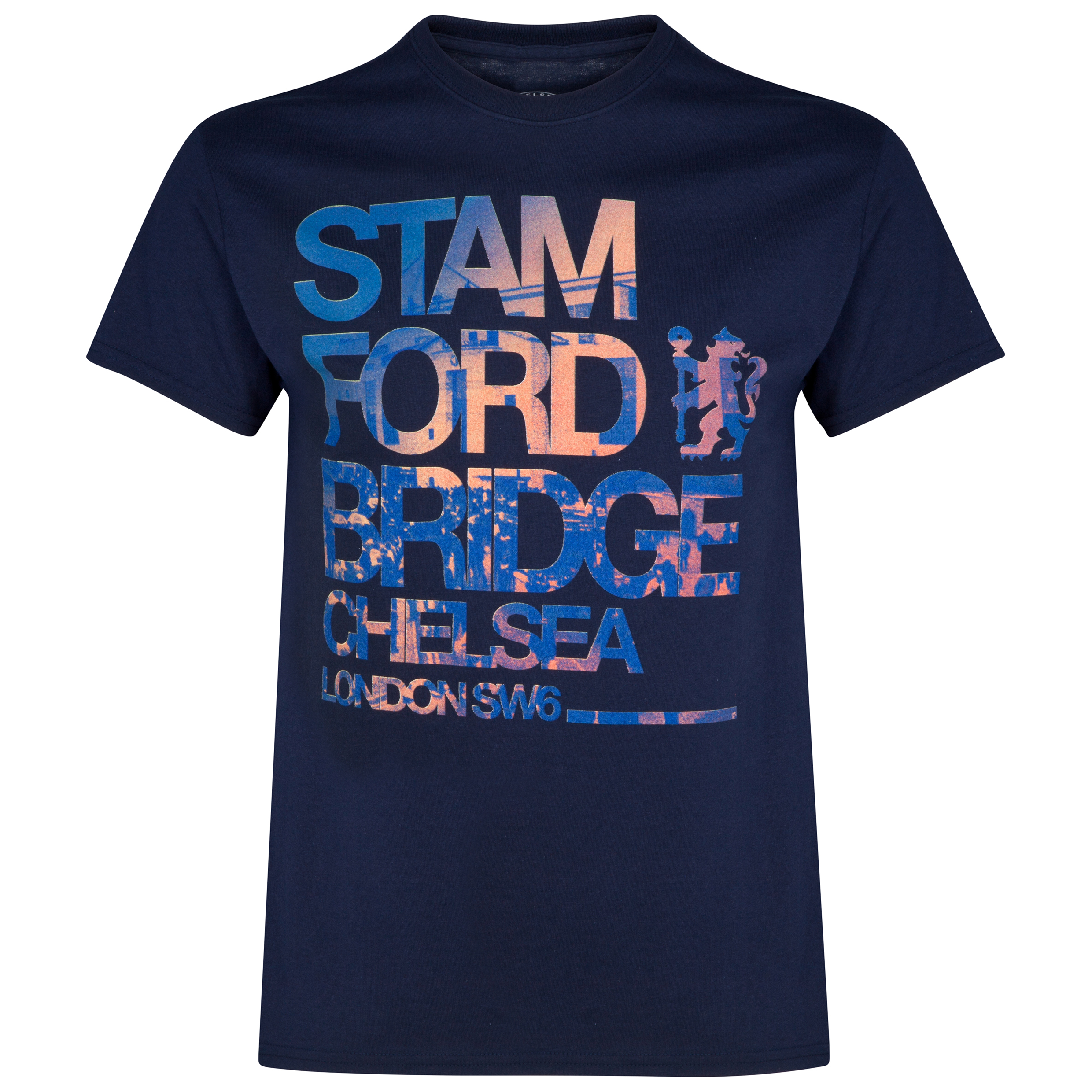 Chelsea Stamford Bridge T-Shirt - Navy - Mens
