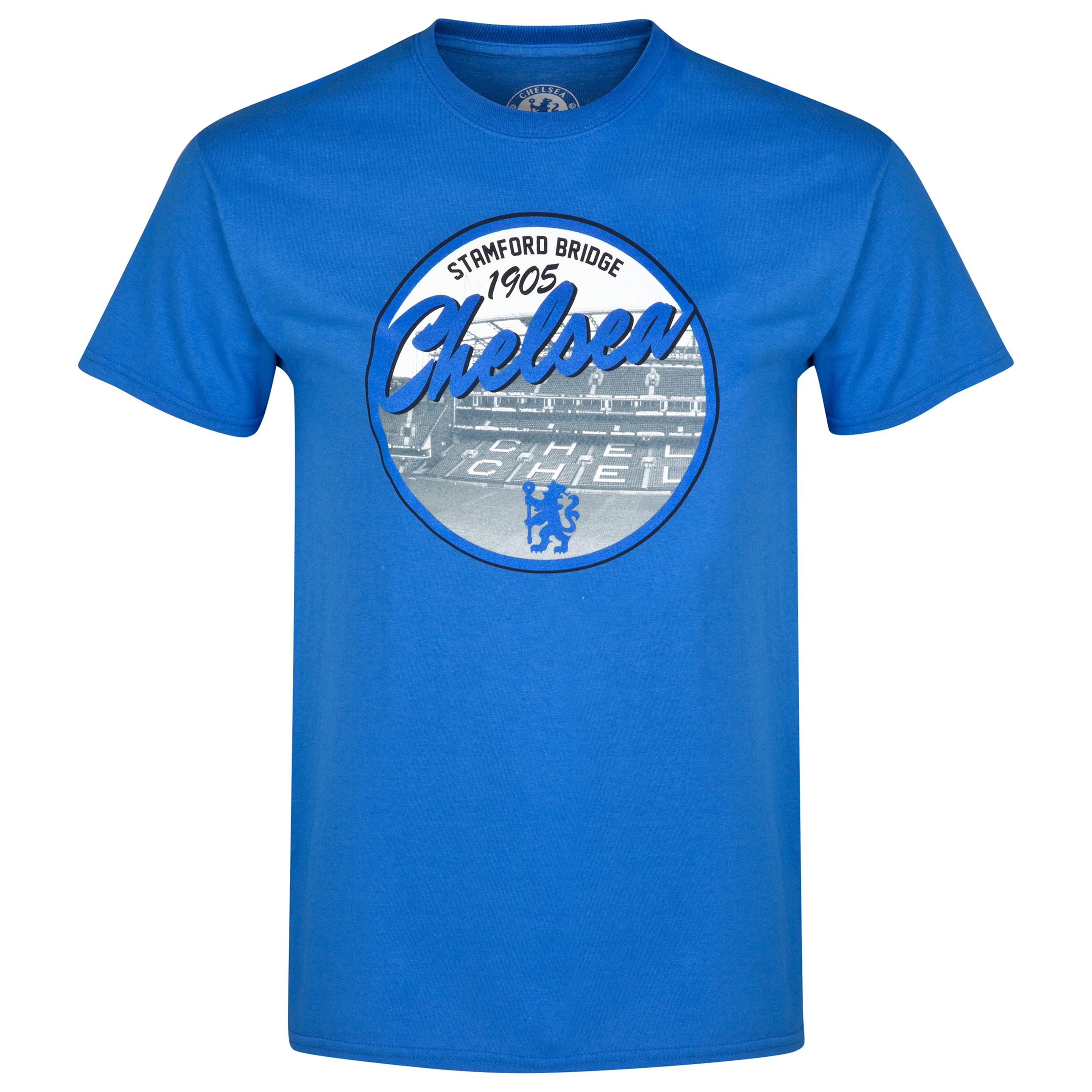 Chelsea Stadium T-Shirt - Royal - Mens