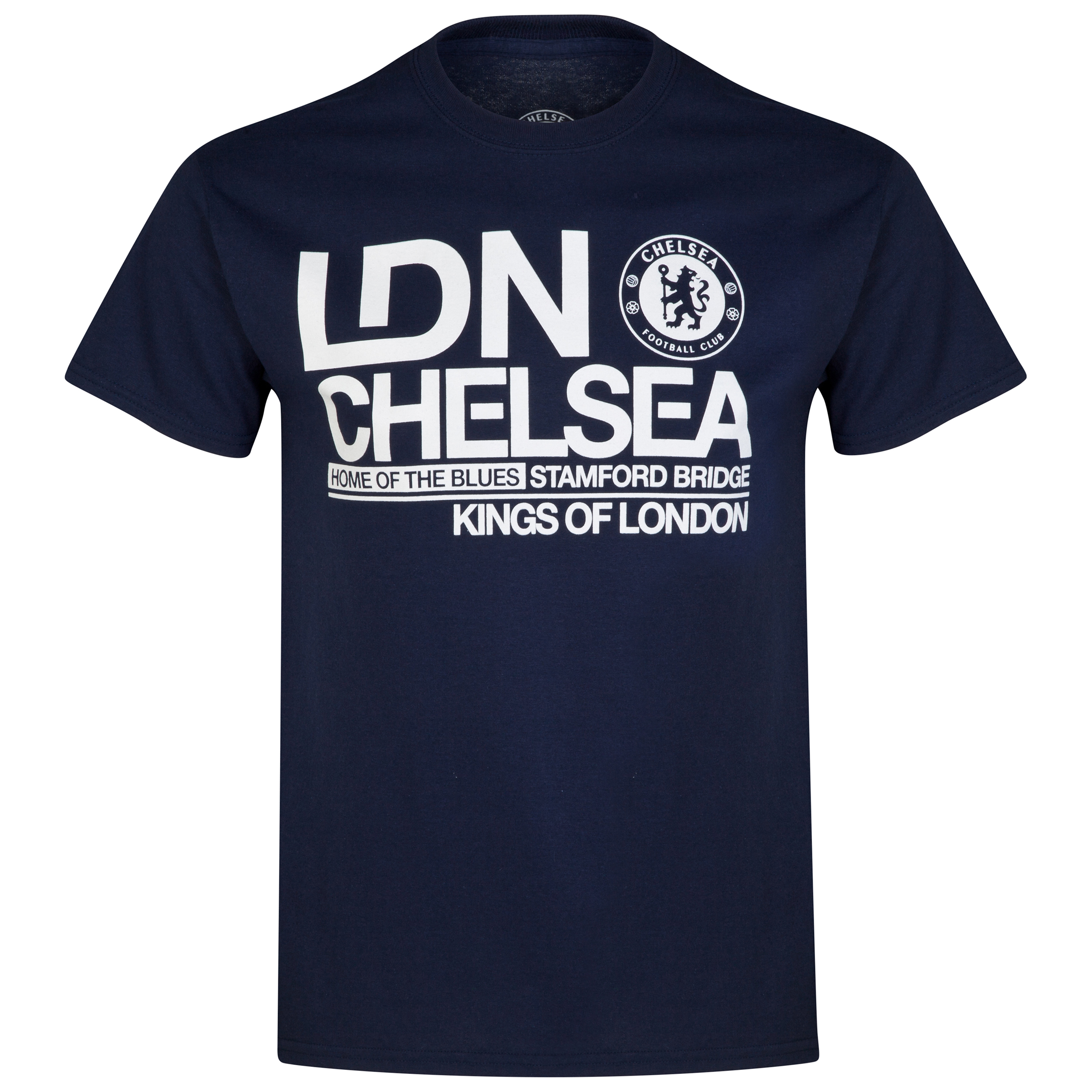 Chelsea Kings of London T-Shirt - Navy - Mens