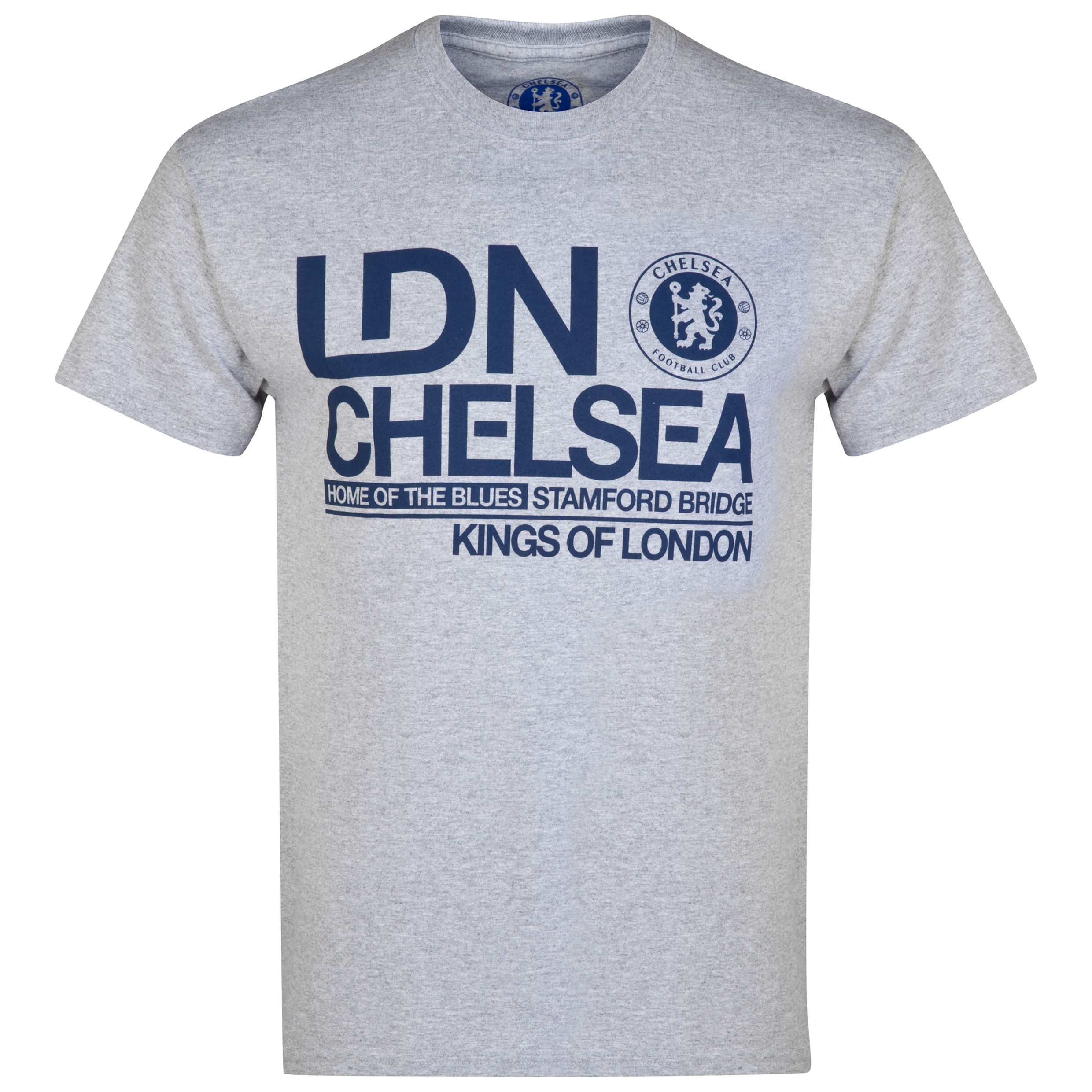 Chelsea Kings of London T-Shirt - Sports Grey - Mens