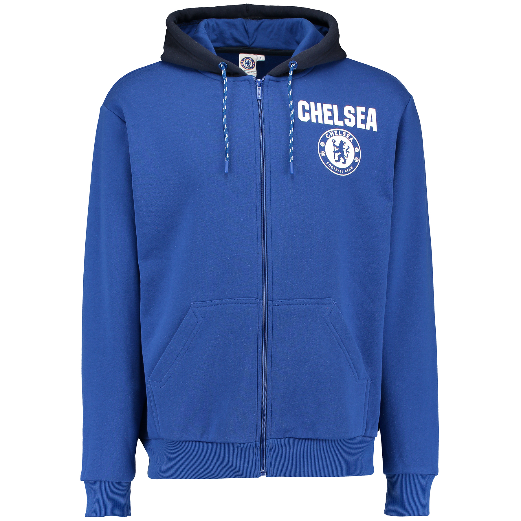Chelsea Classic Full Zip Hoodie - Royal - Mens