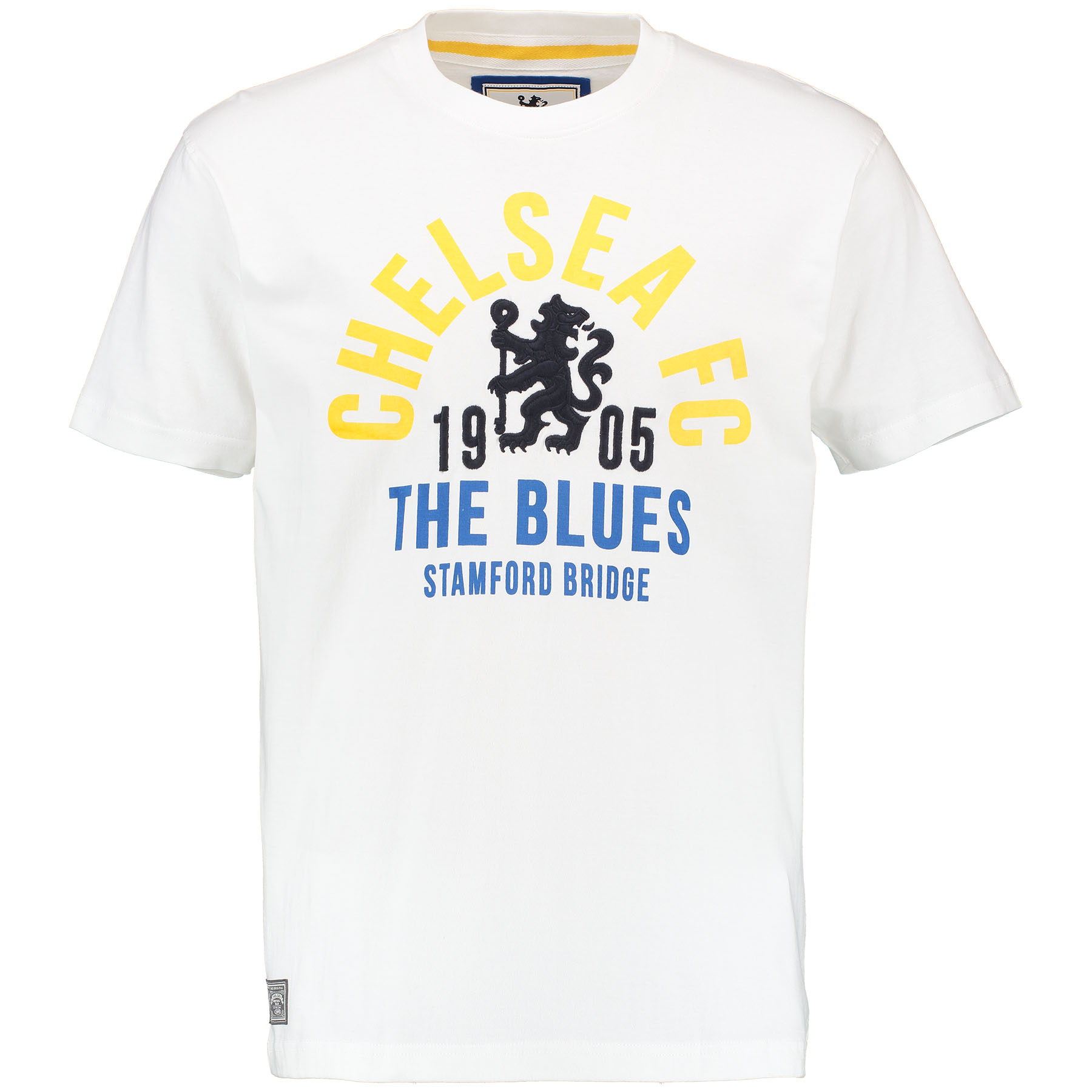 Chelsea Heritage Graphic T-Shirt - White - Mens