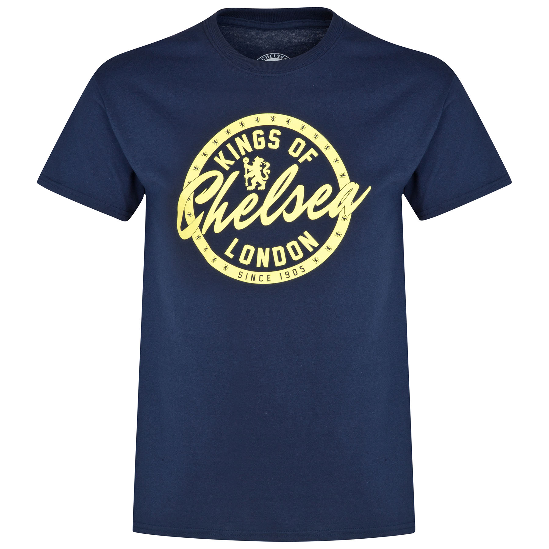 Chelsea Lion Circle T-Shirt - Navy - Mens