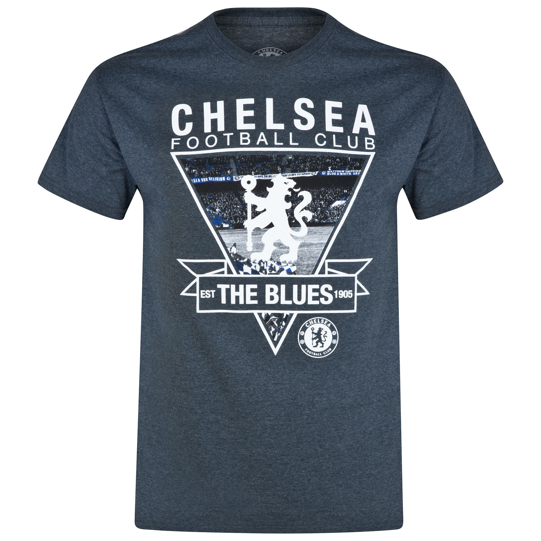 Chelsea The Blues T-Shirt - Dark Heather - Mens
