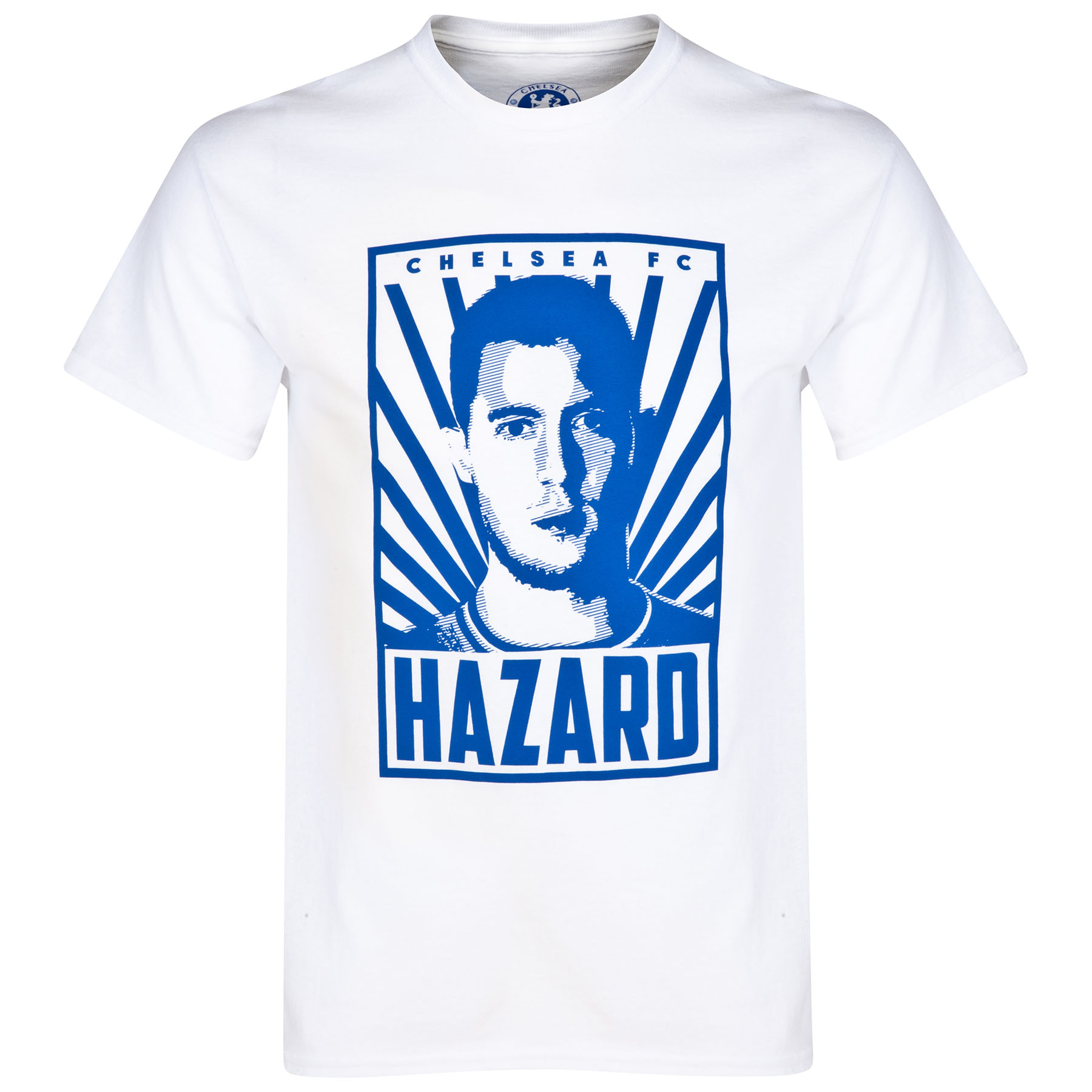 Chelsea Hazard T-Shirt - White - Mens