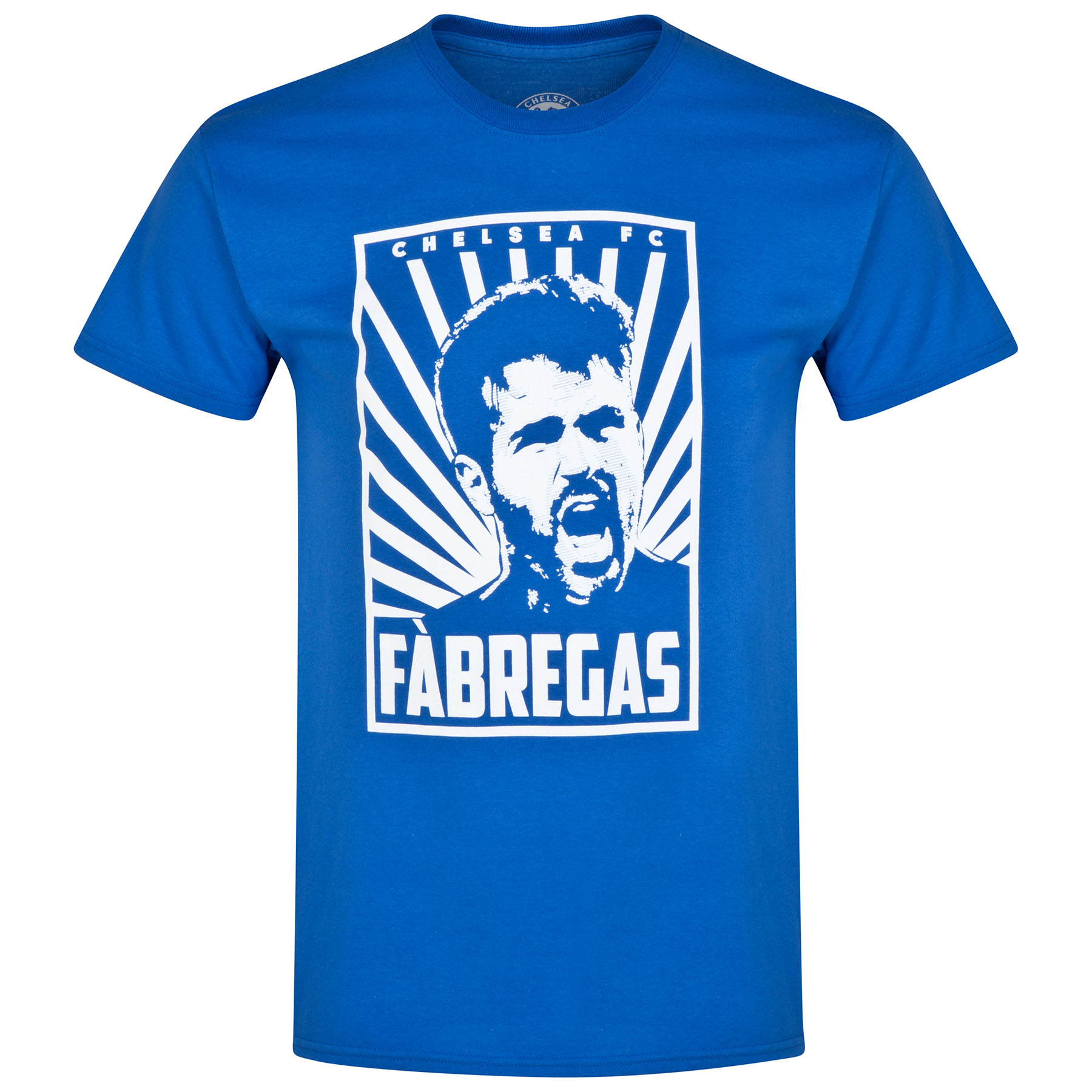 Chelsea Fabregas T-Shirt - Royal - Mens