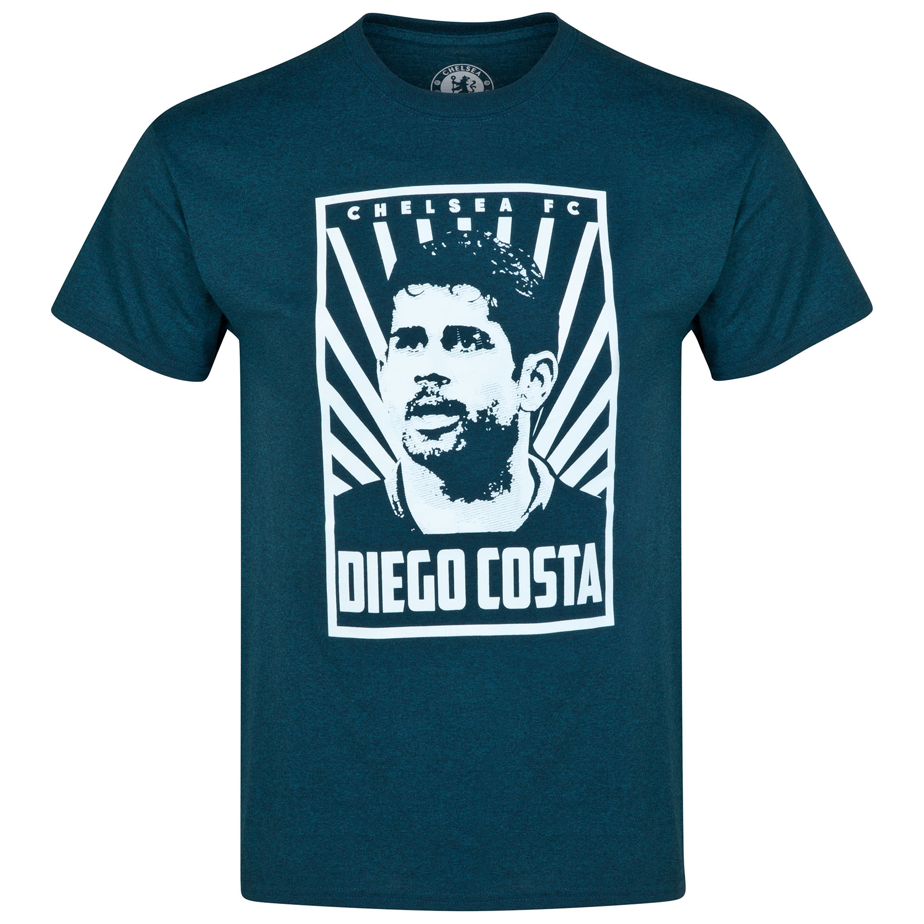 Chelsea Diego Costa T-Shirt - Heather Navy - Mens