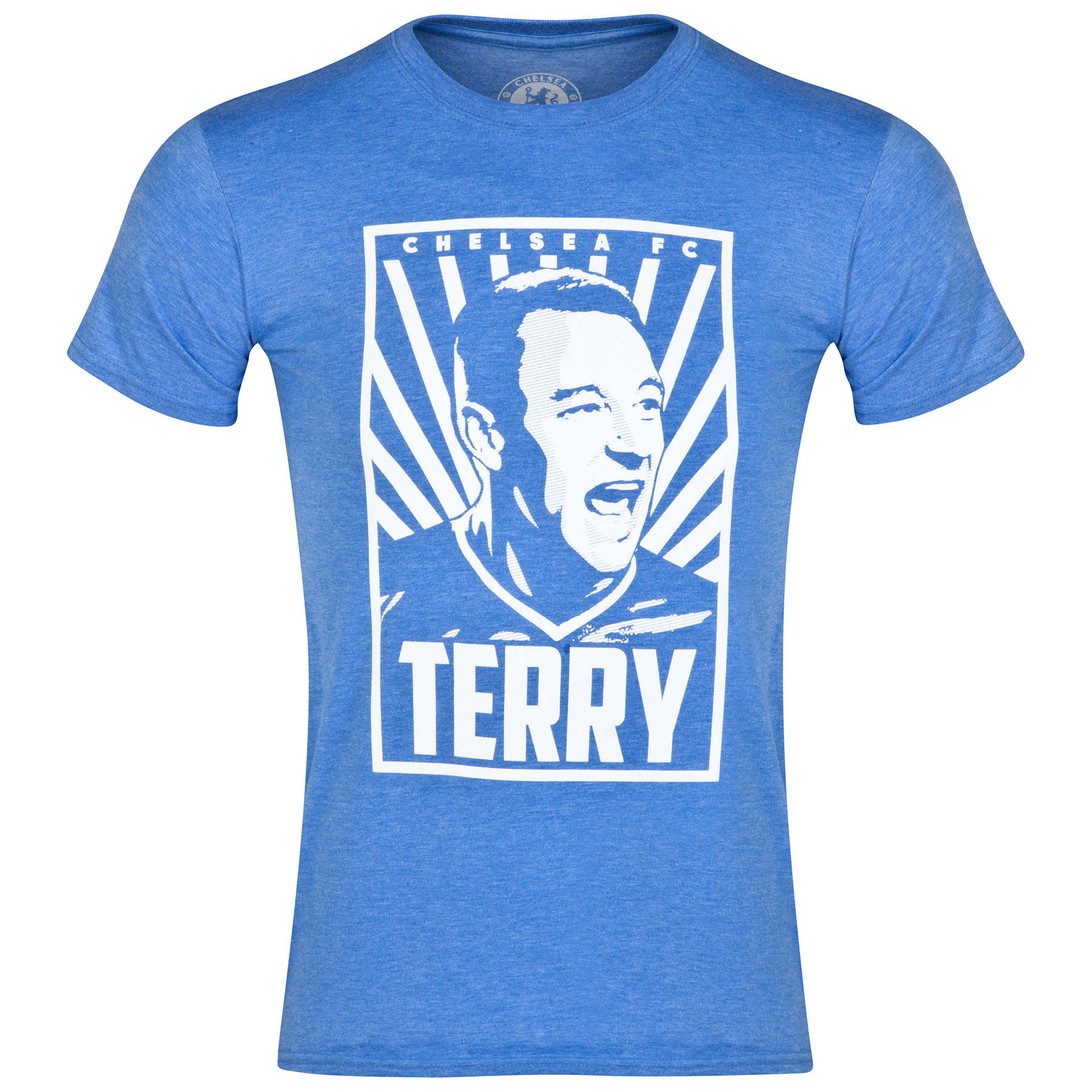 Chelsea Terry T-Shirt - Heather Royal - Mens