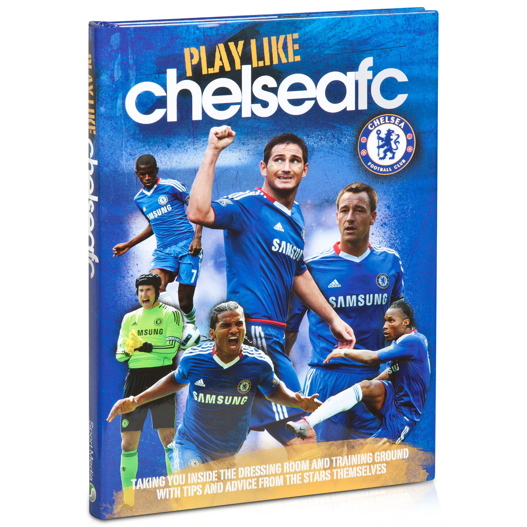 Chelsea Play Like CFC Book - Hardback