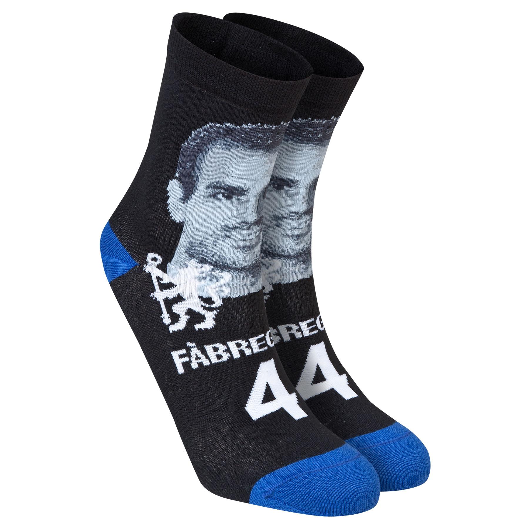 Chelsea Fabregas Player Socks - Black - Mens