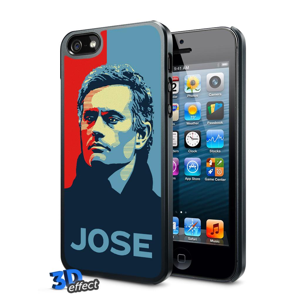 Chelsea Jose Mourinho 3D iPhone 5 Hard Case