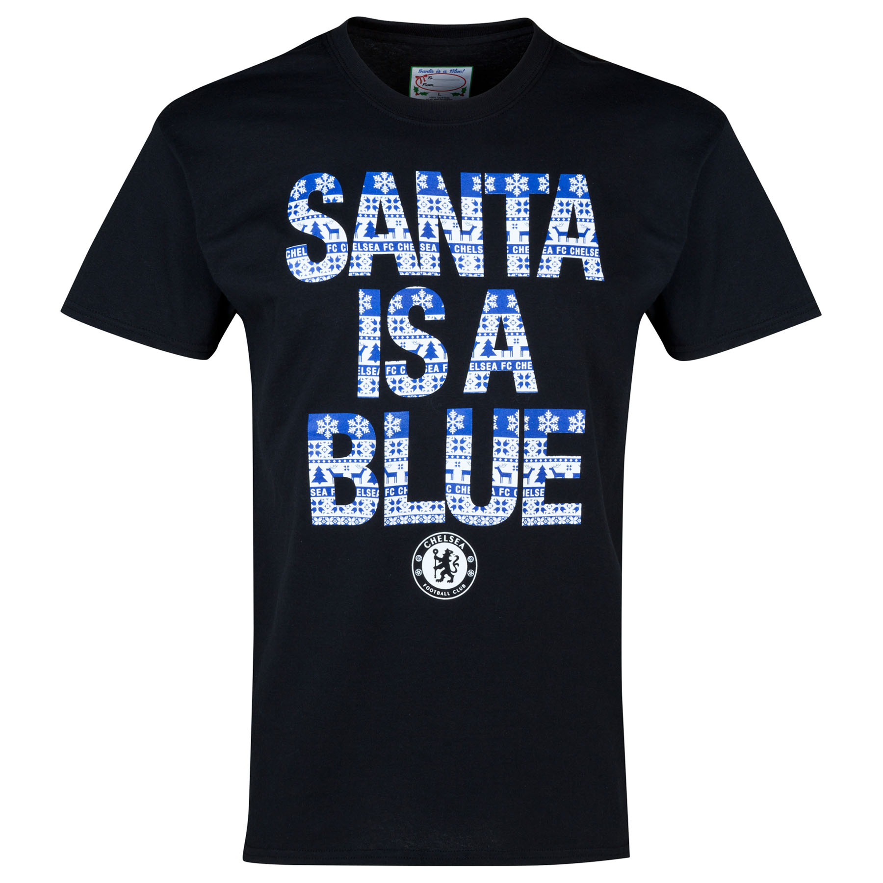 Chelsea Festive T-Shirt - Black - Kids