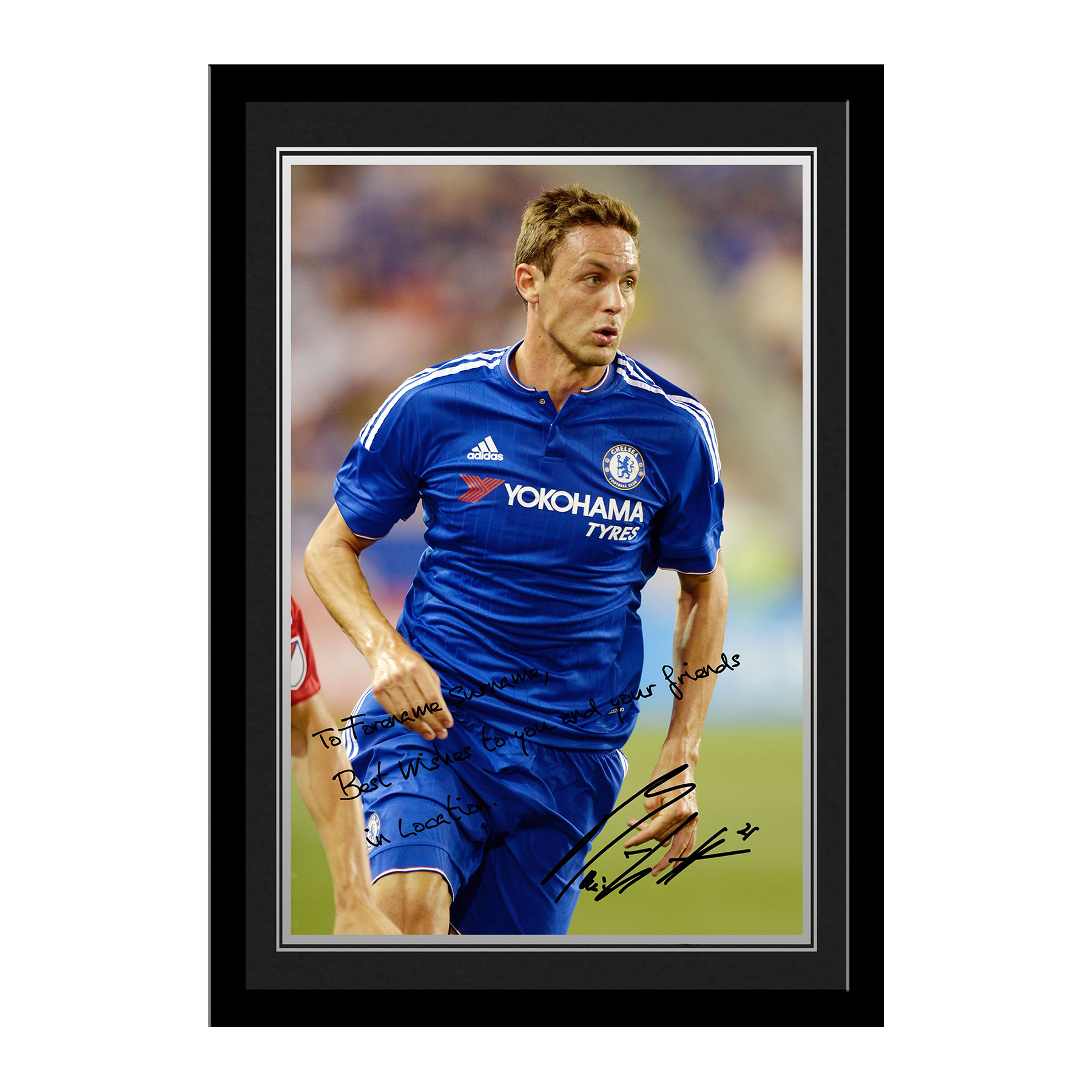Chelsea Personalised Signature Photo Framed - Matic