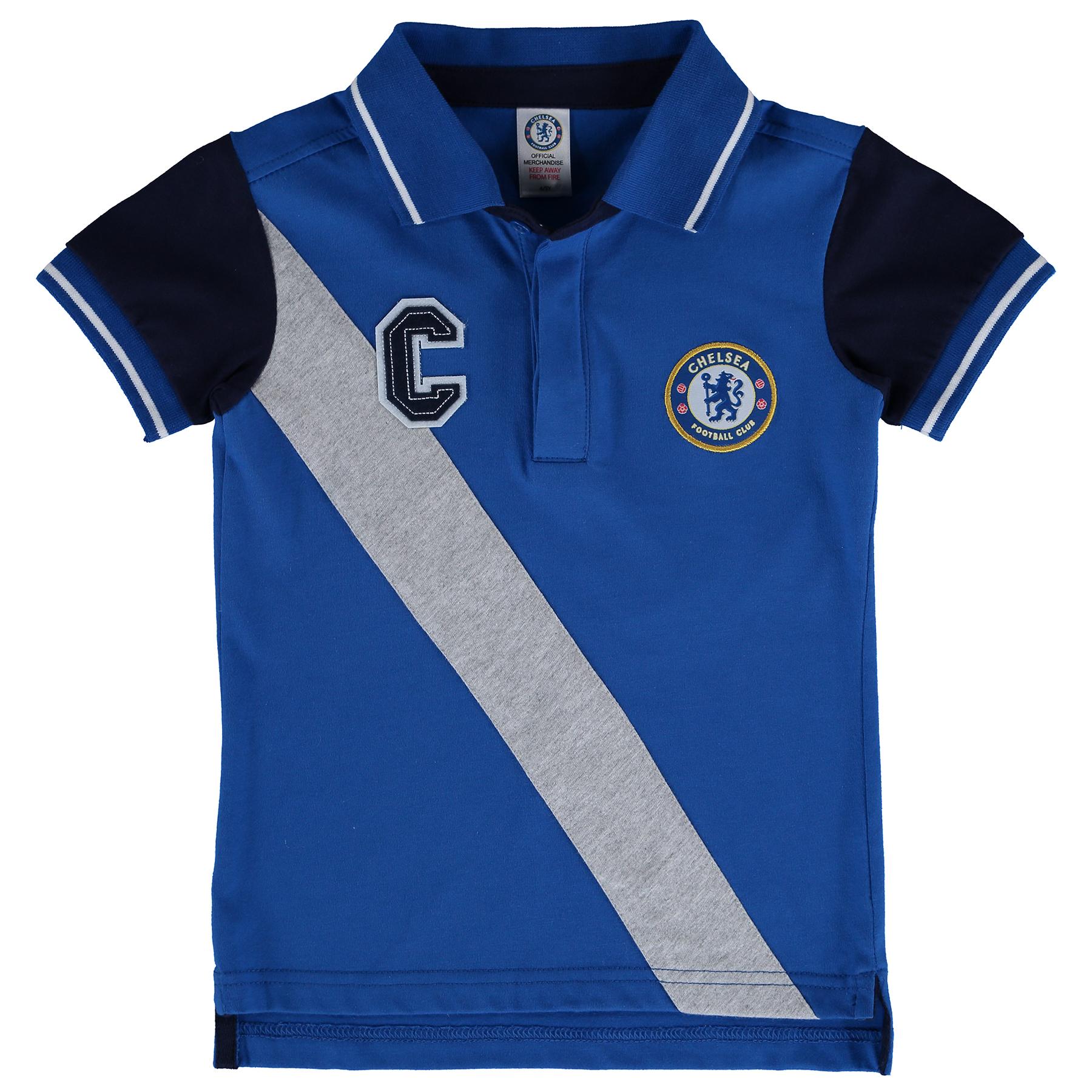 Chelsea Sports Polo Shirt - Royal - Baby Boys