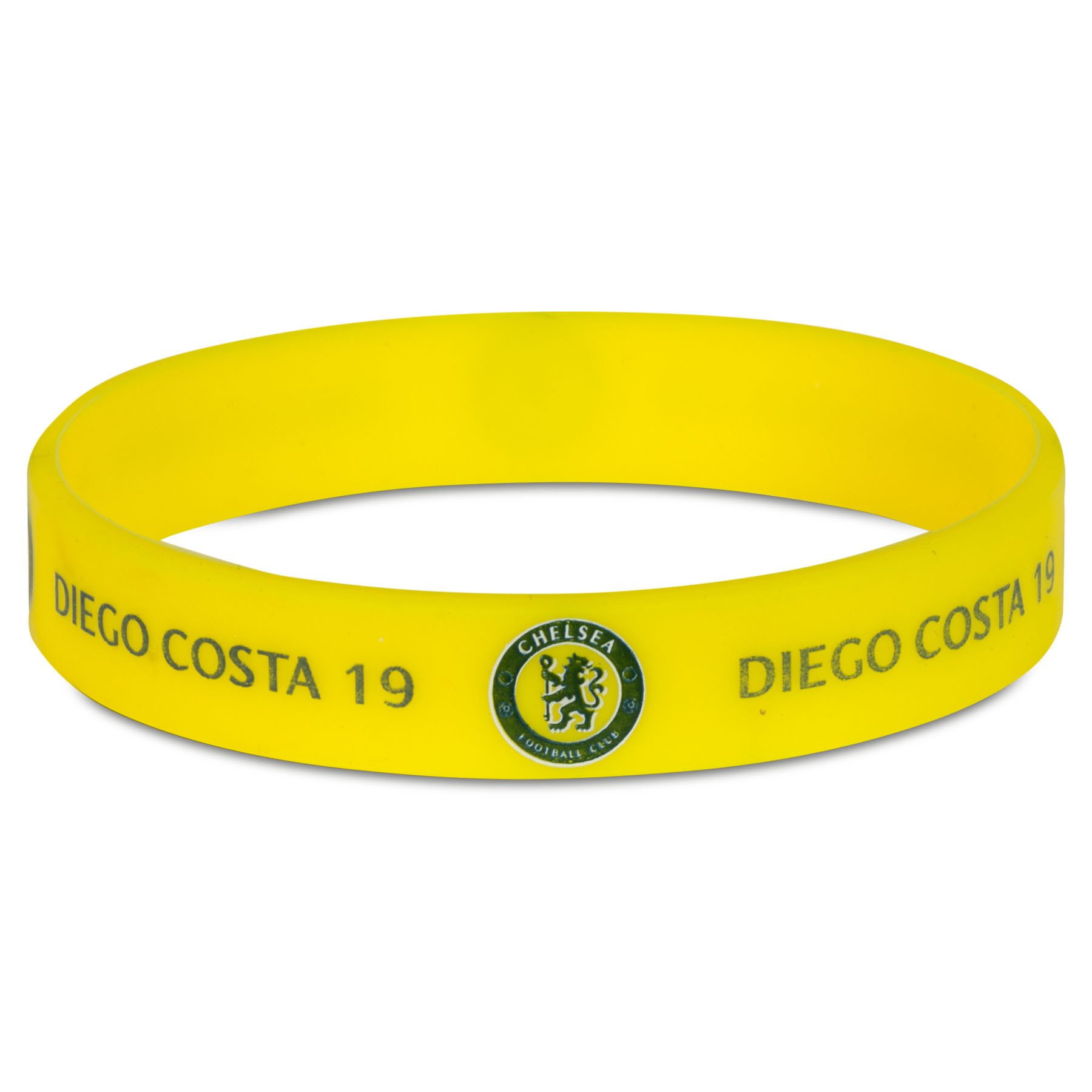 Chelsea Diego Costa Wristband - Yellow