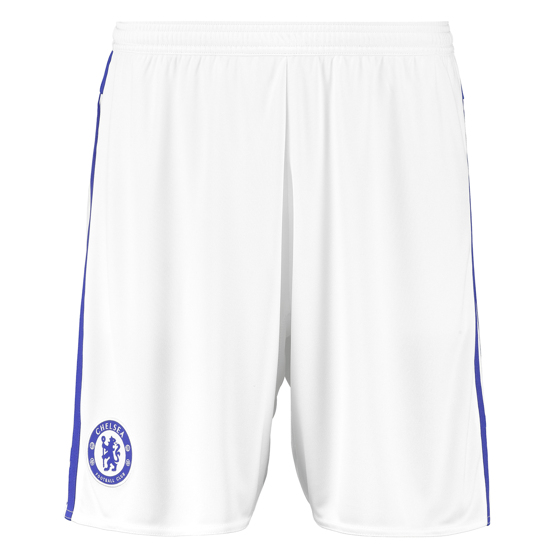Chelsea Away Shorts 2015/16 - Kids Show your support for your favourite club with the new Chelsea Away Shorts for 2015/16. Join the likes of Champions Diego Costa, Cesc Fabregas and Eden Hazard and order your new Chelsea shorts today! Benefits CLIMACOOL® Provides heat and moisture management through ventilation Club crest: woven badge Without inner mesh brief 100% rec. Polyester