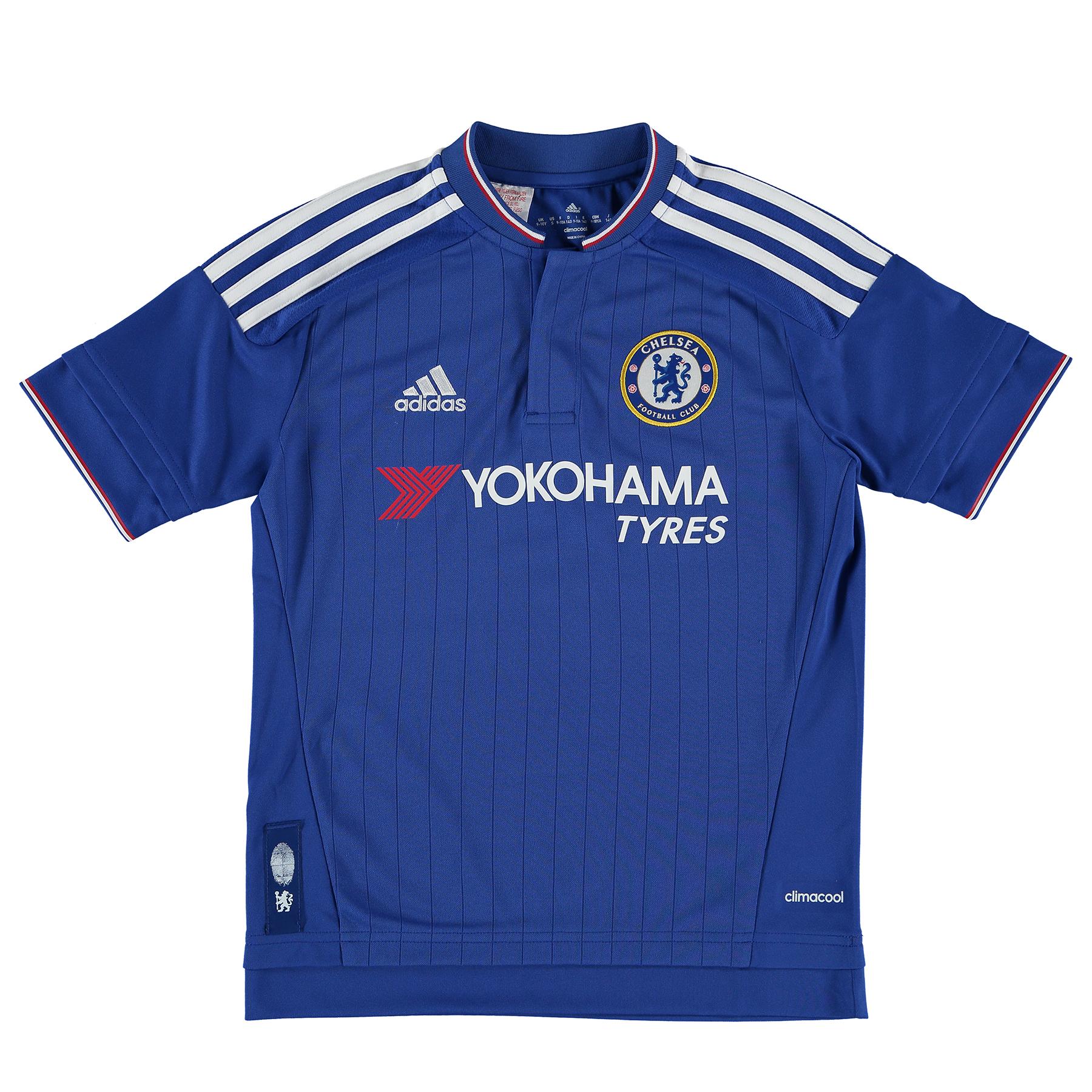 Chelsea Home Shirt 2015/16 Kids Blue