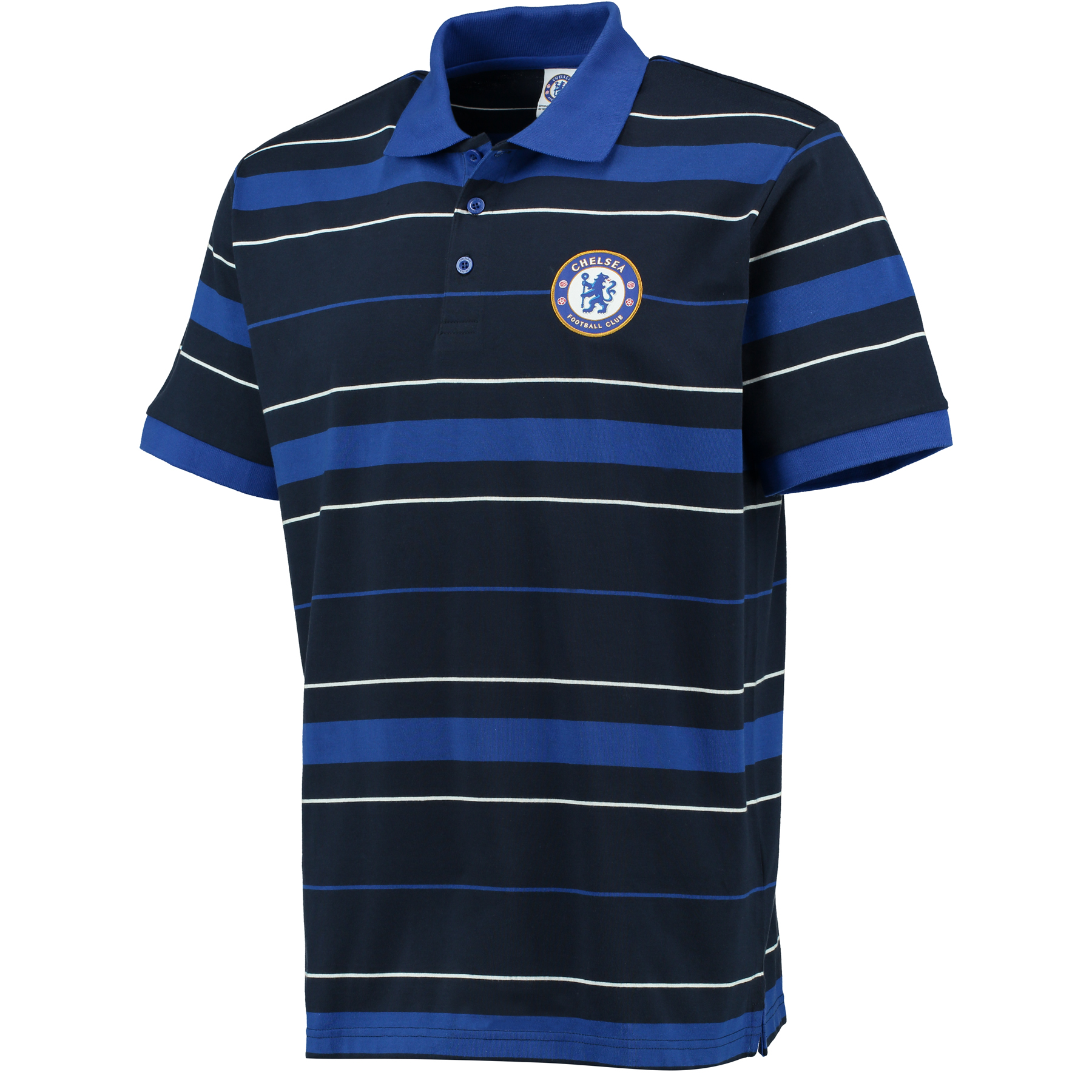 Chelsea Classic Striped Polo Shirt - Navy - Mens