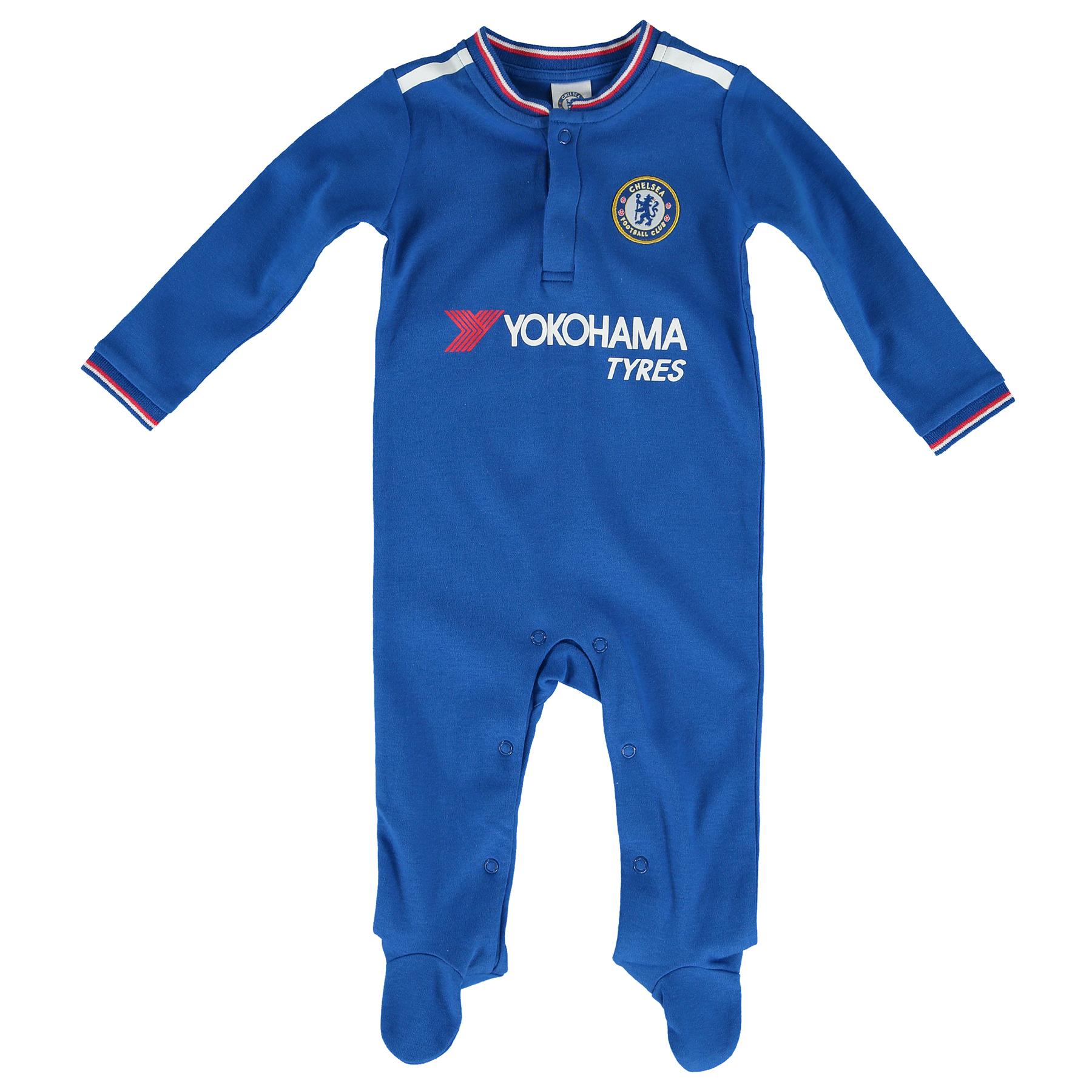 Chelsea Kit Sleepsuit - Royal - Baby